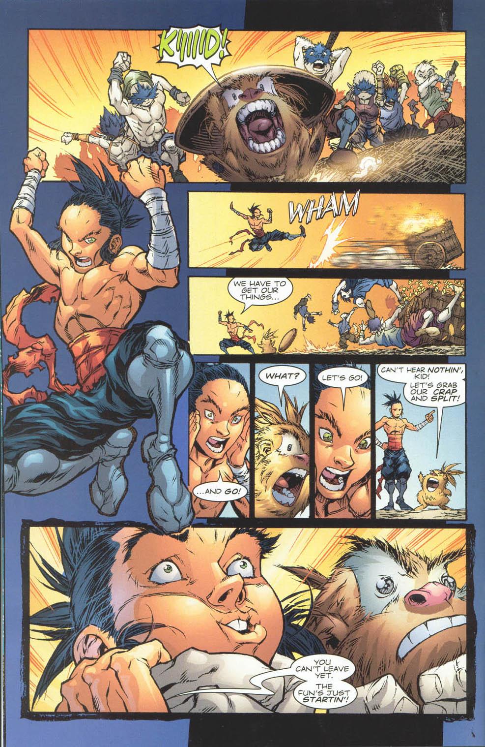 Read online Ninja Boy comic -  Issue #4 - 10