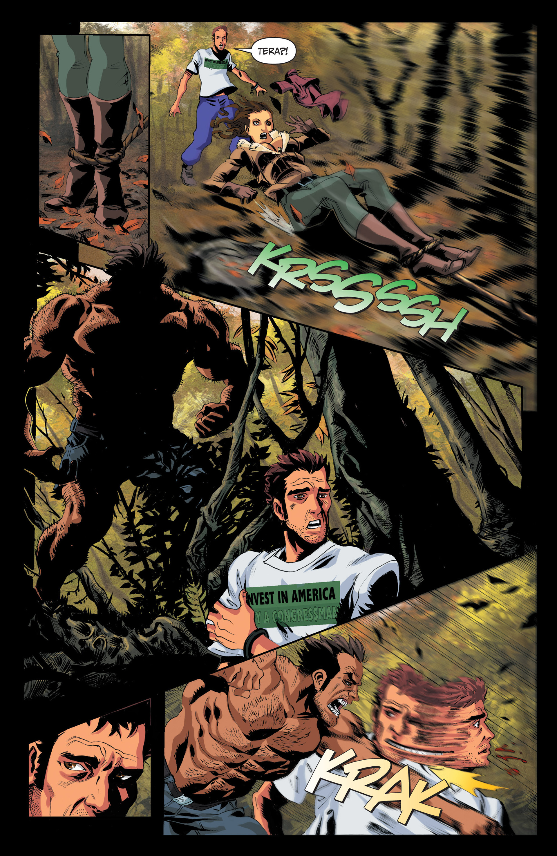 Read online Jim Butcher's The Dresden Files: Fool Moon comic -  Issue #4 - 8