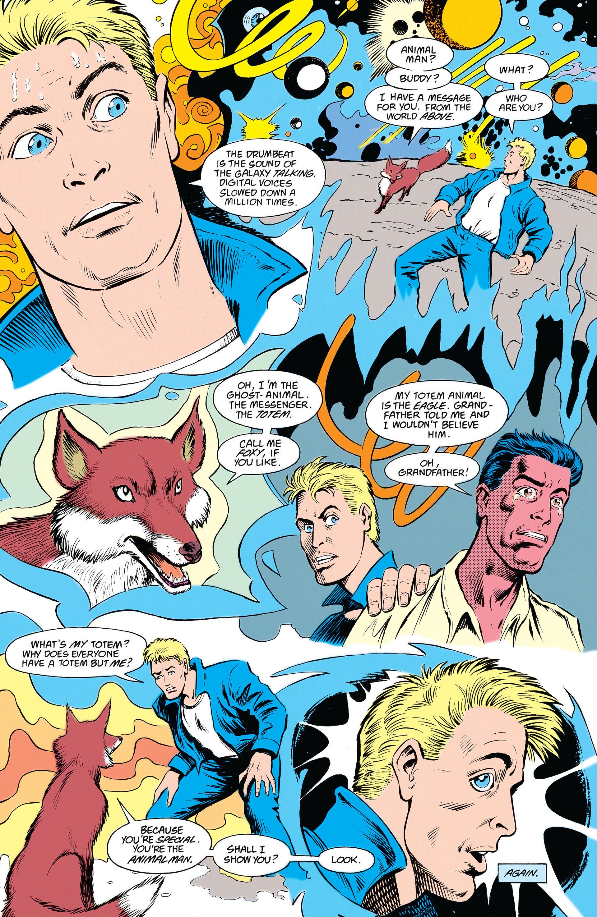 Read online Animal Man (1988) comic -  Issue #18 - 16