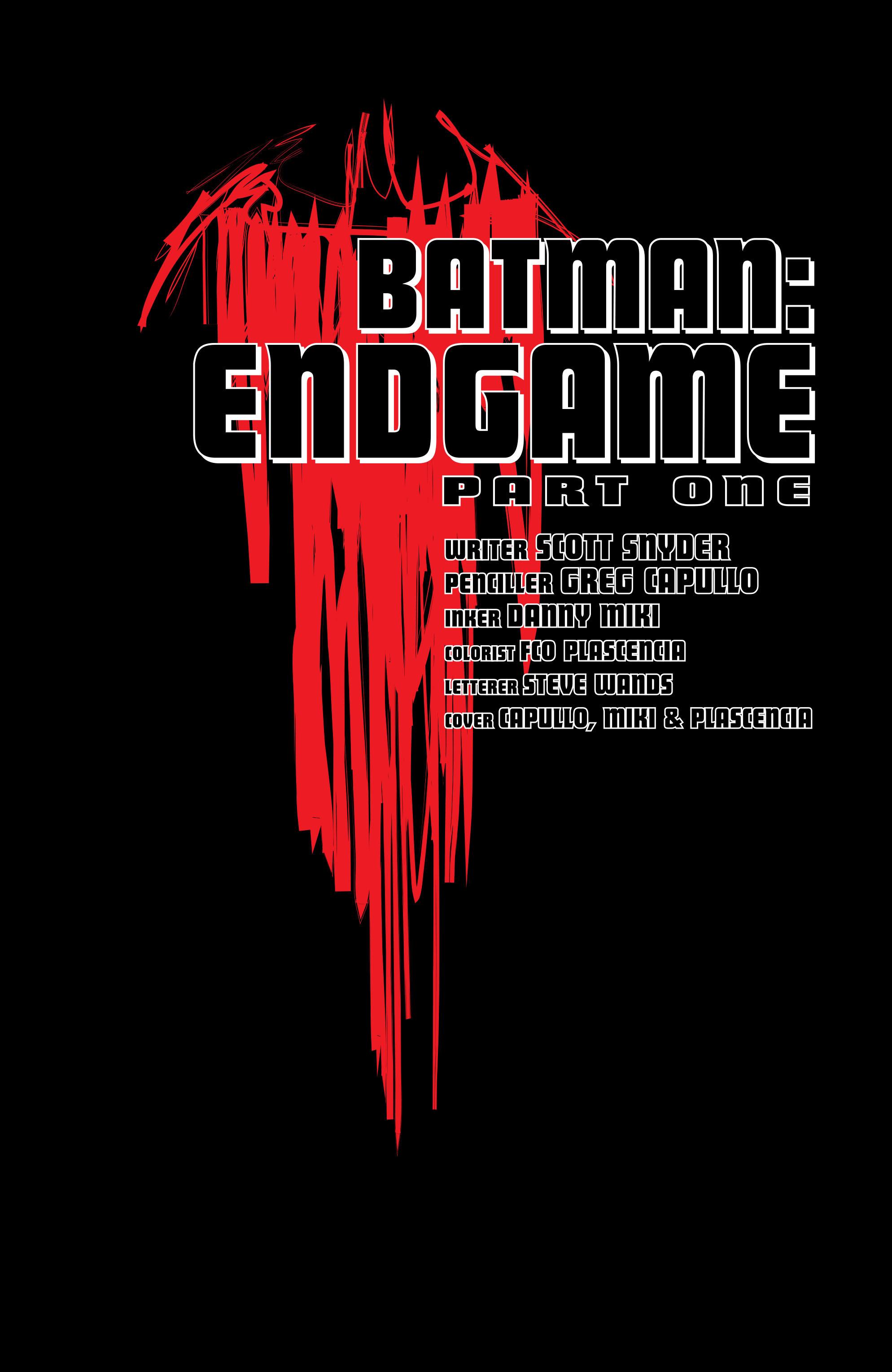 Read online Batman (2011) comic -  Issue # _TPB 7 - 10