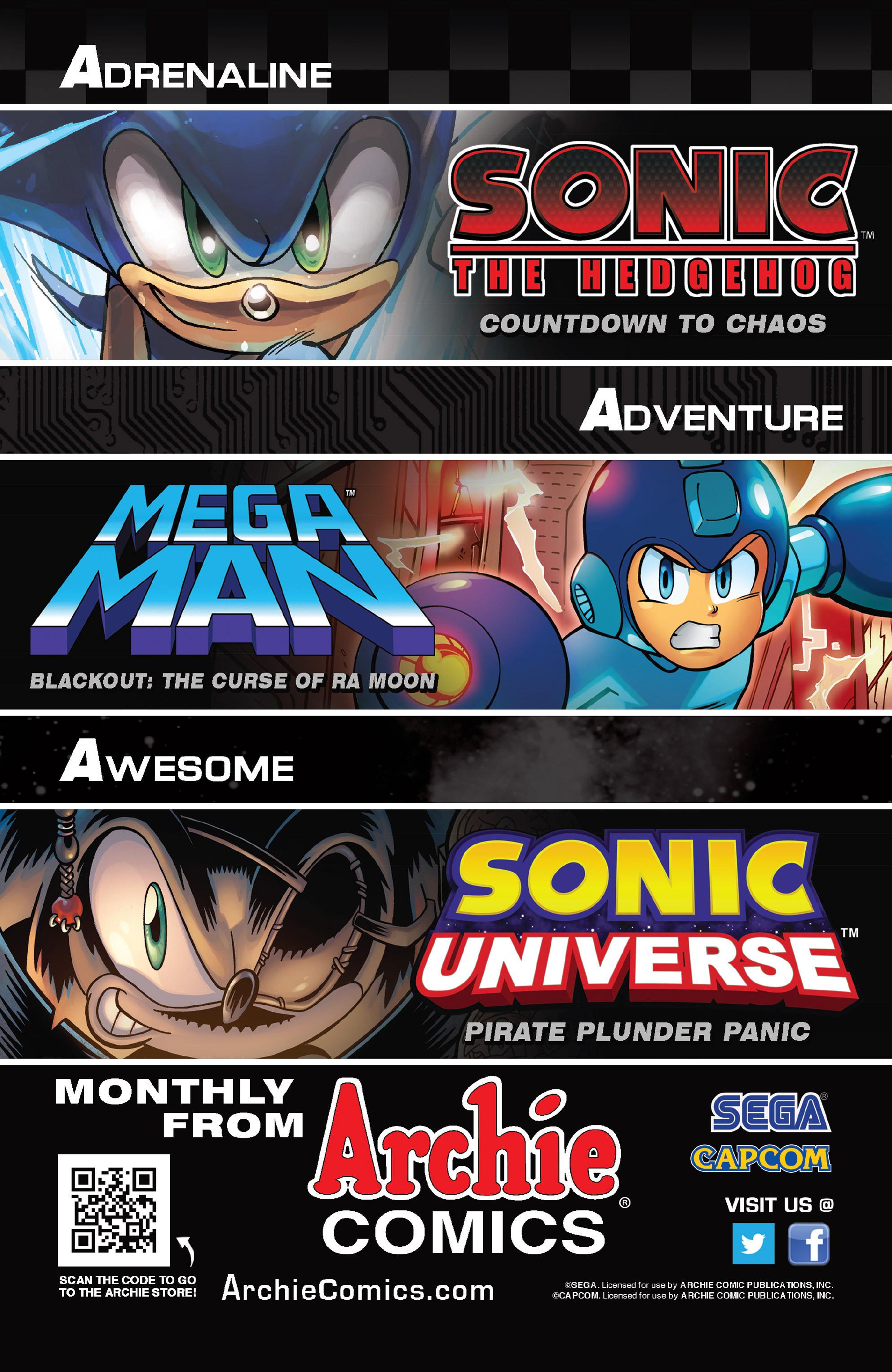Read online Sonic Mega Man Worlds Collide comic -  Issue # Vol 3 - 46