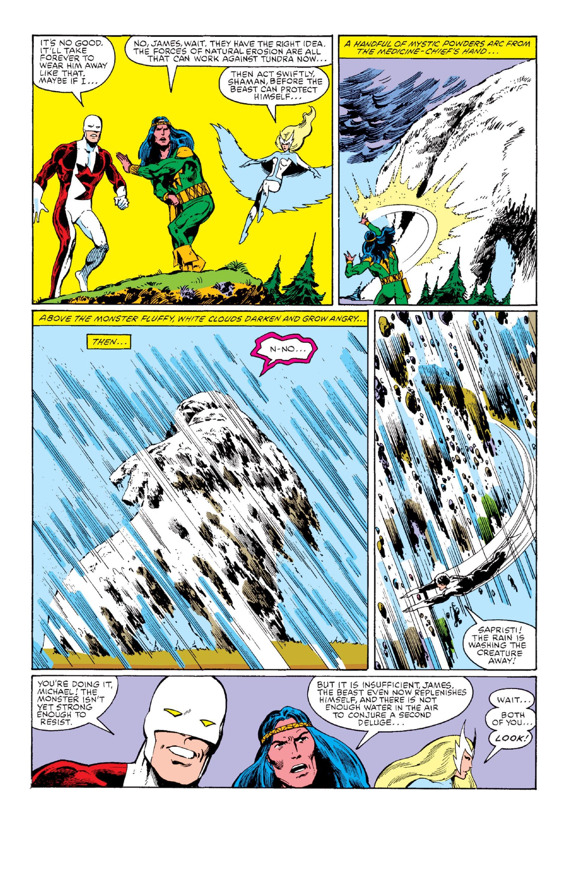 Read online Alpha Flight (1983) comic -  Issue #1 - 34