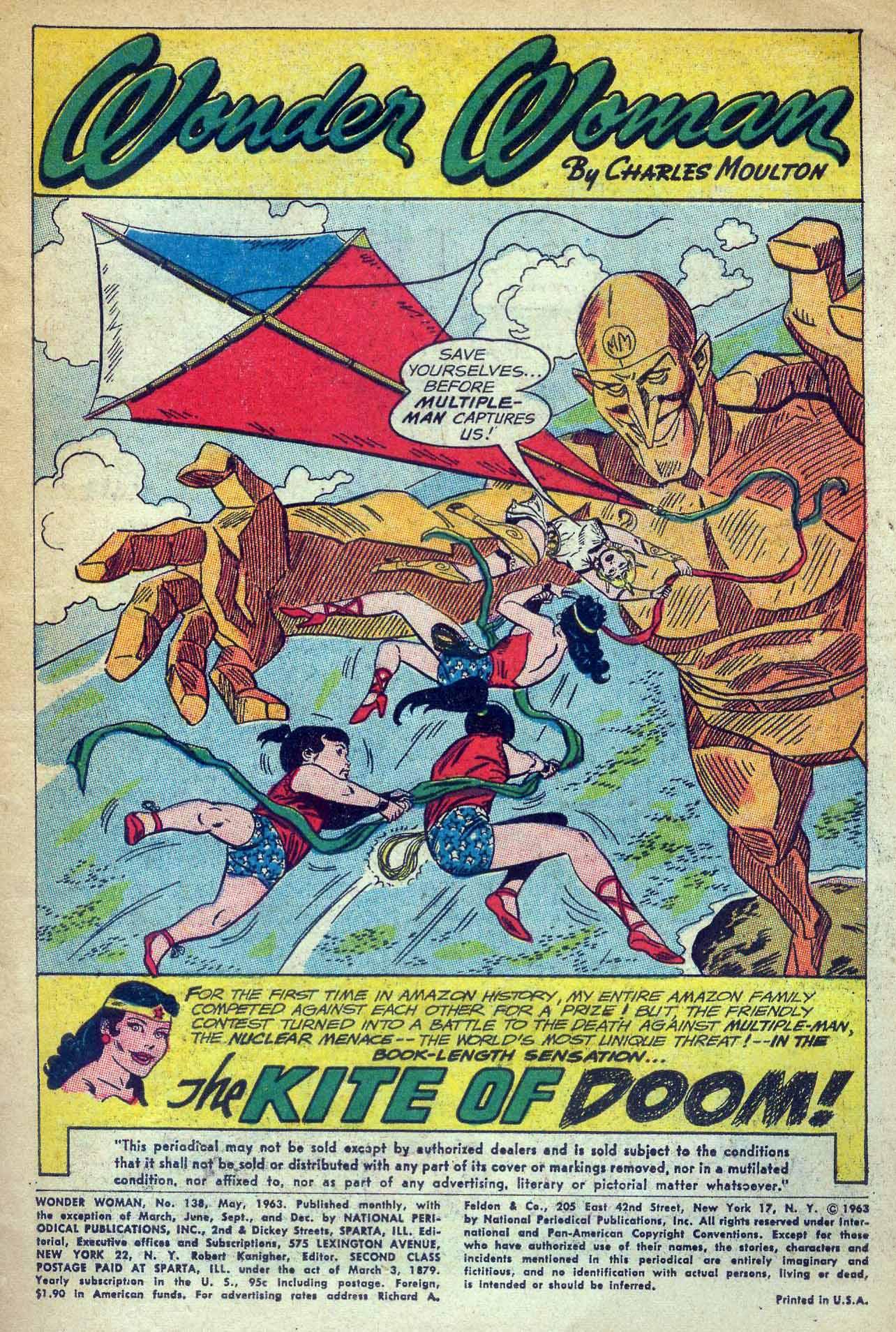 Read online Wonder Woman (1942) comic -  Issue #138 - 3