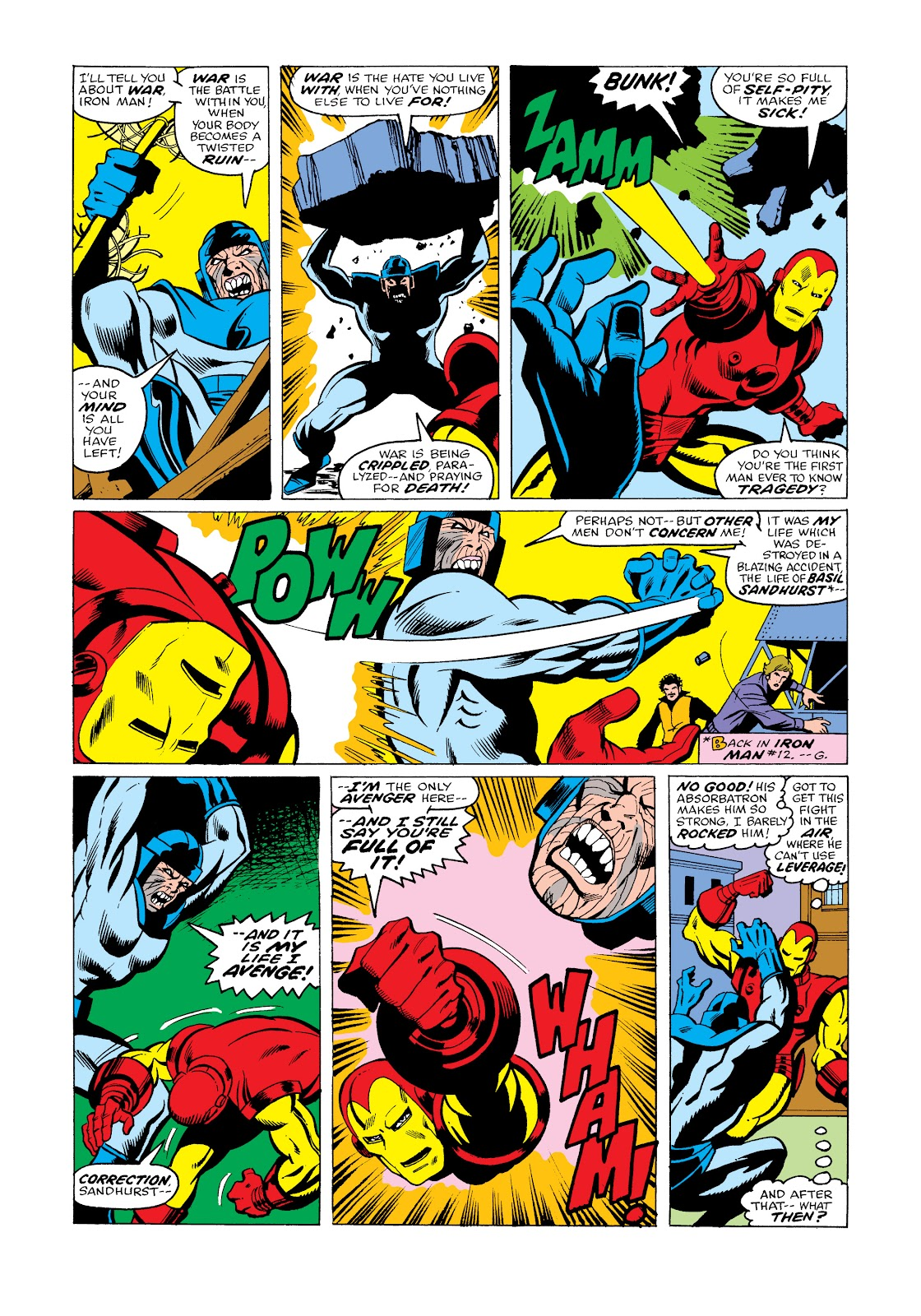 Read online Marvel Masterworks: The Invincible Iron Man comic -  Issue # TPB 11 (Part 3) - 24