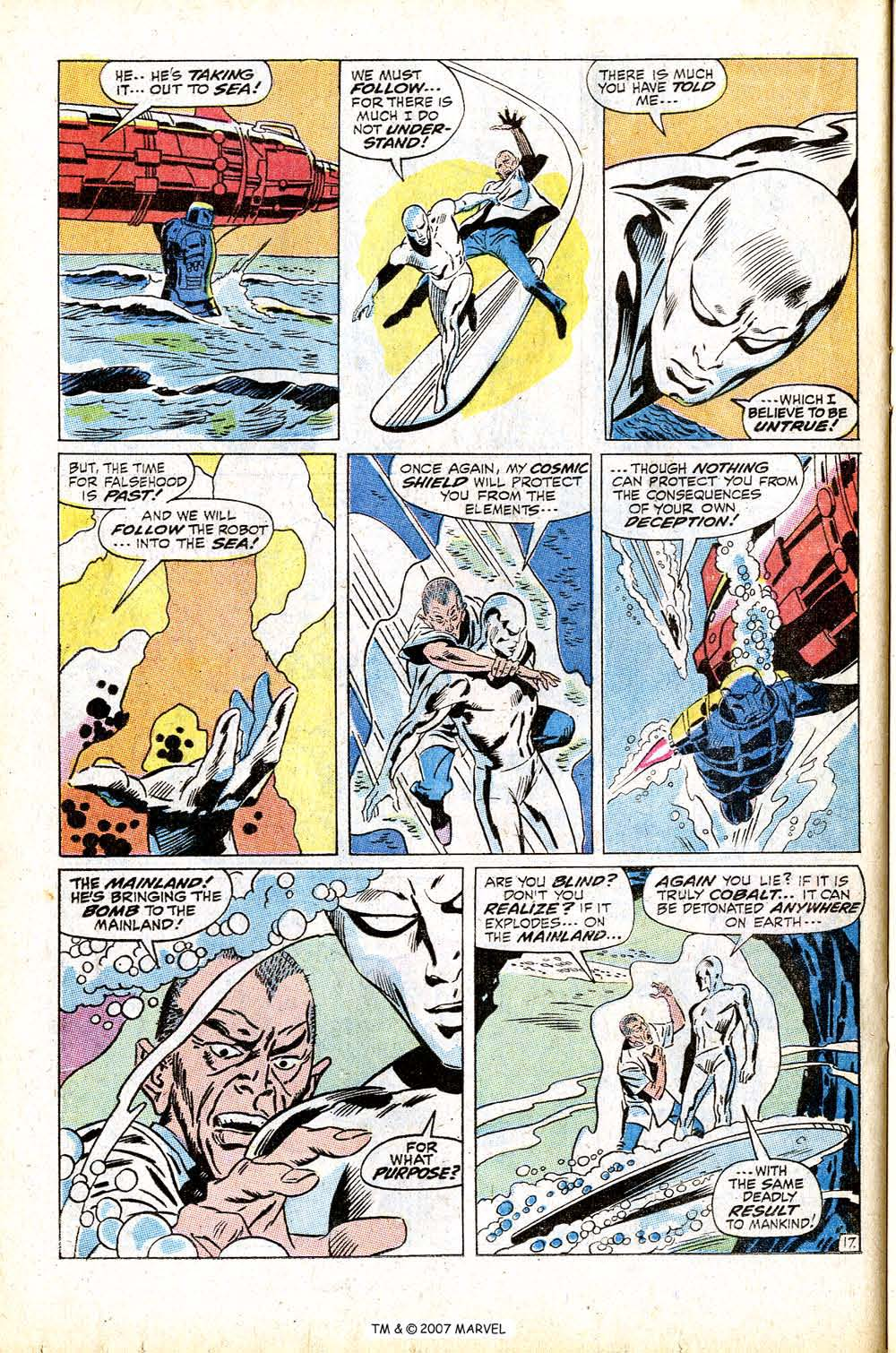 Read online Silver Surfer (1968) comic -  Issue #13 - 24