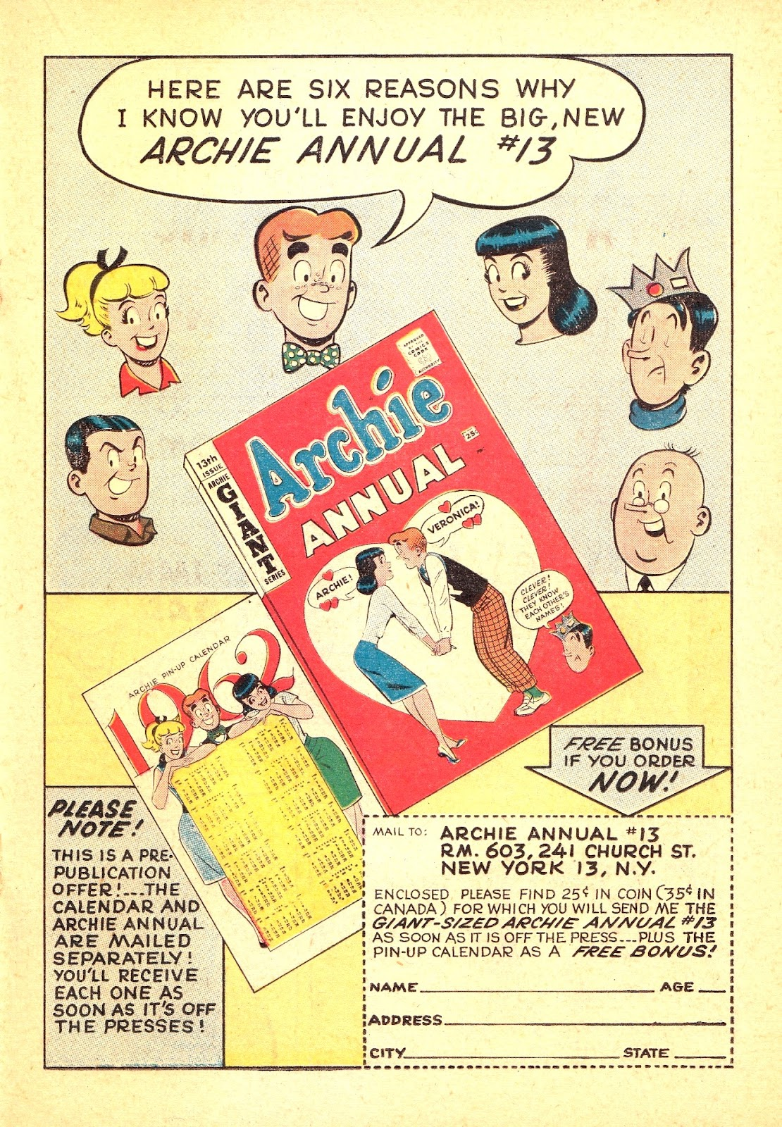 Read online Archie (1960) comic -  Issue #121 - 19