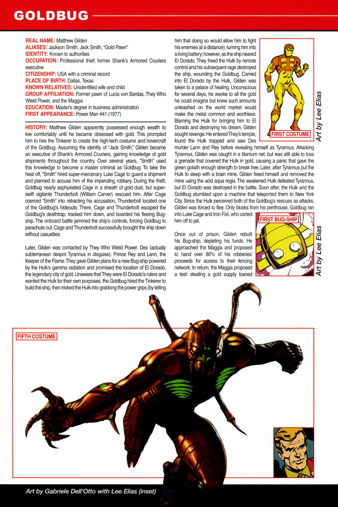 Read online All-New Official Handbook of the Marvel Universe A to Z: Update comic -  Issue #4 - 16