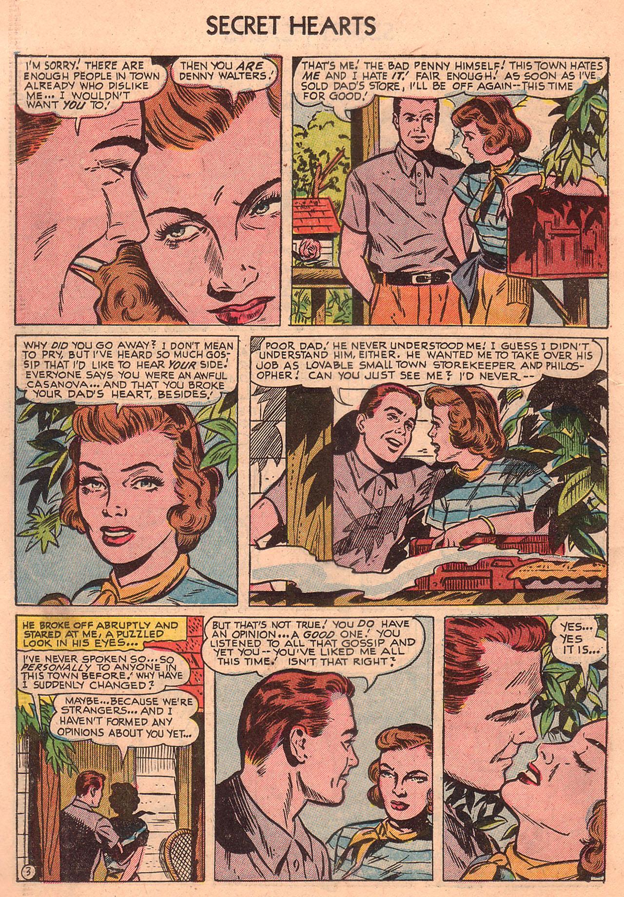 Read online Secret Hearts comic -  Issue #23 - 18