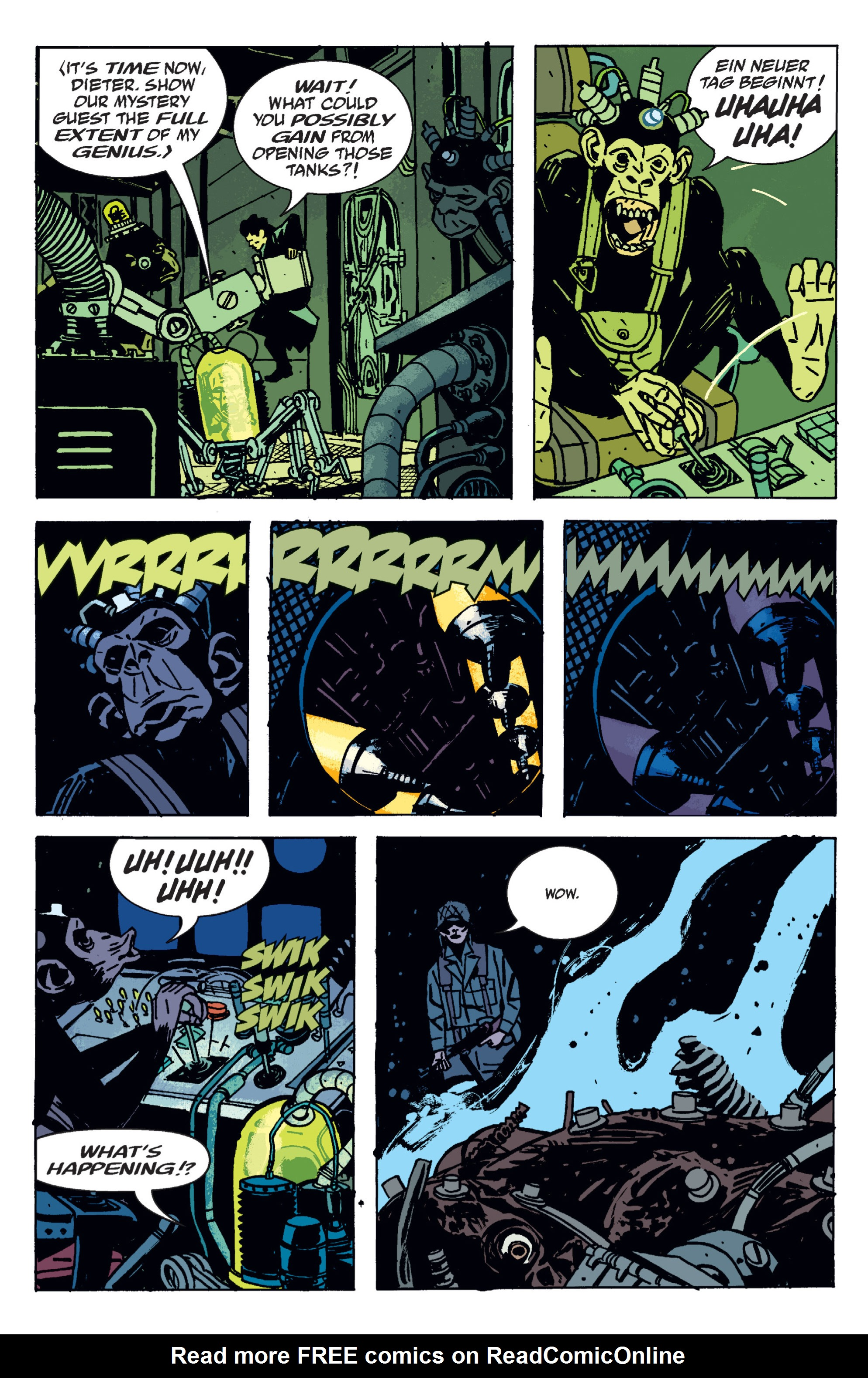 Read online B.P.R.D. (2003) comic -  Issue # TPB 9 - 122