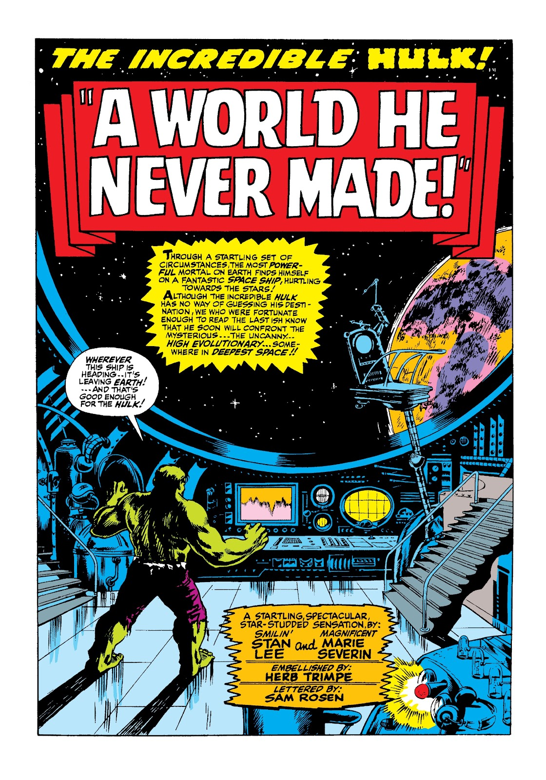 Read online Marvel Masterworks: The Incredible Hulk comic -  Issue # TPB 3 (Part 2) - 73