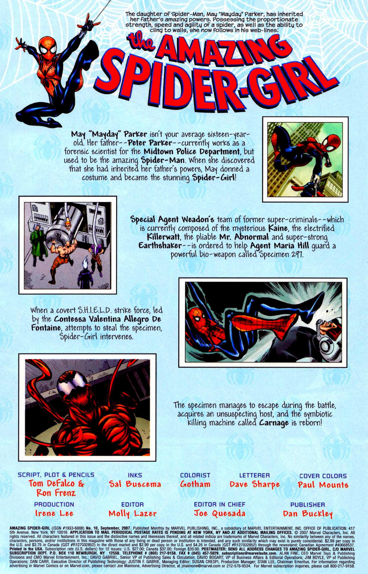 Read online Amazing Spider-Girl comic -  Issue #10 - 2