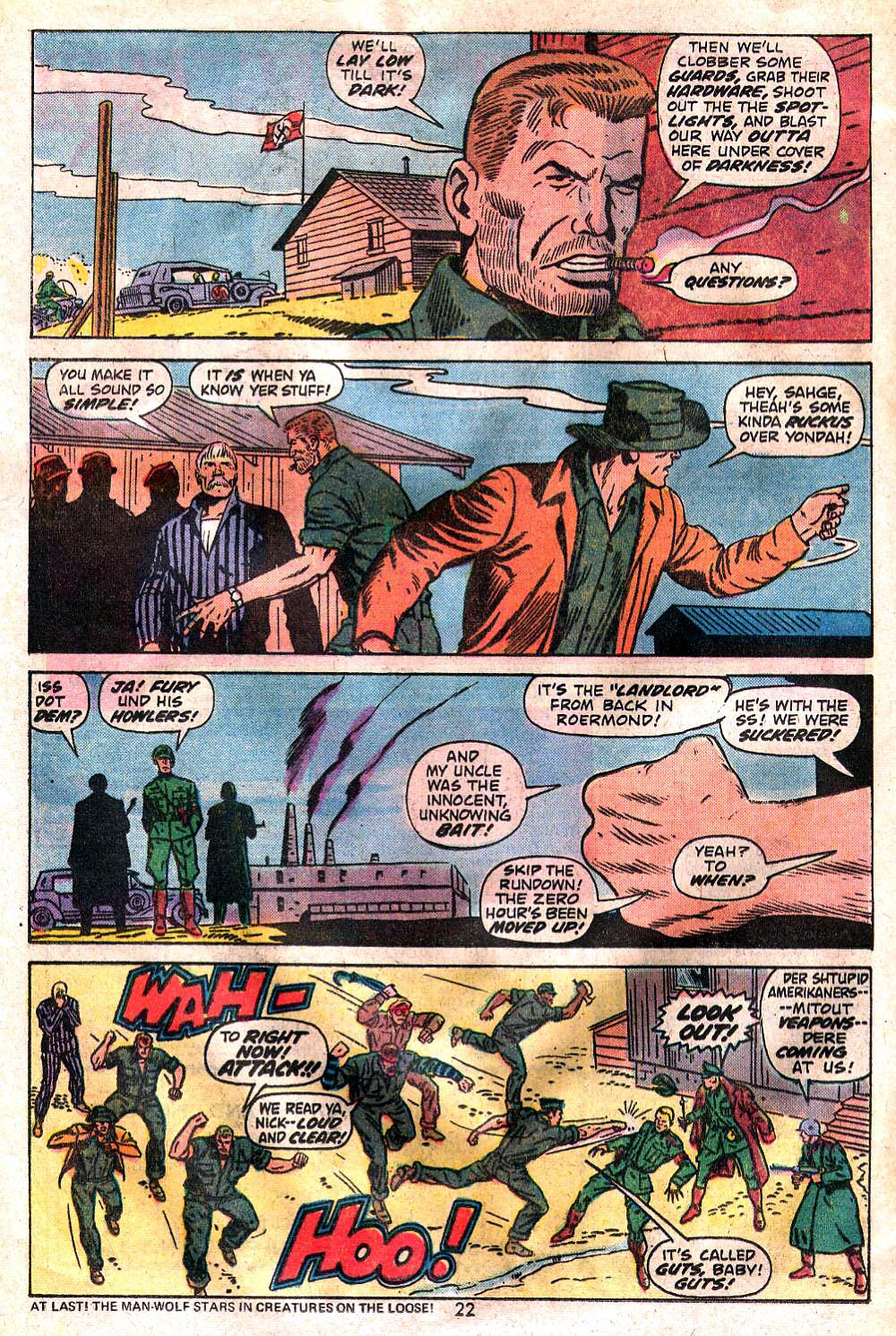 Read online Sgt. Fury comic -  Issue #120 - 24