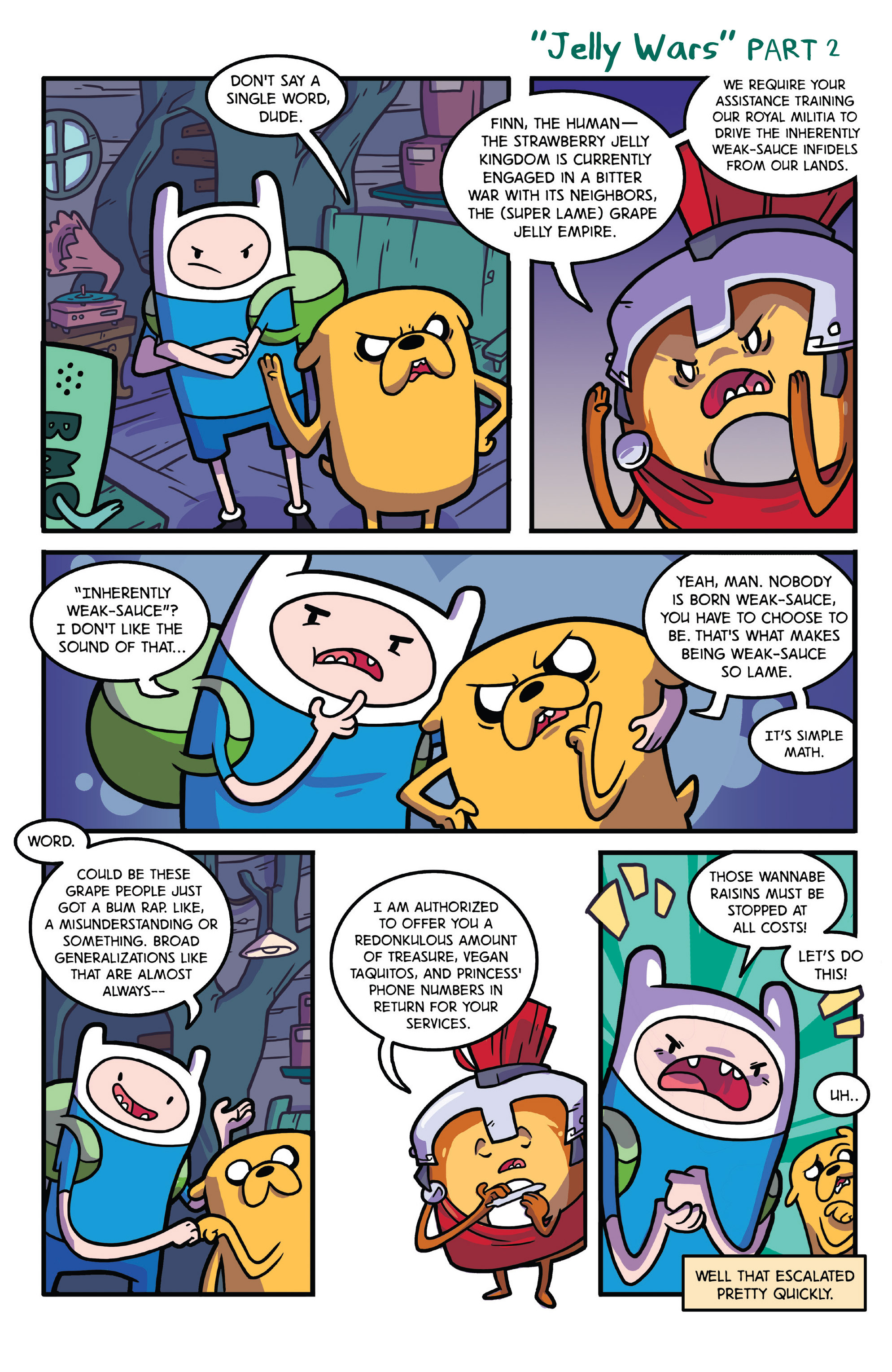 Read online Adventure Time comic -  Issue #28 - 21