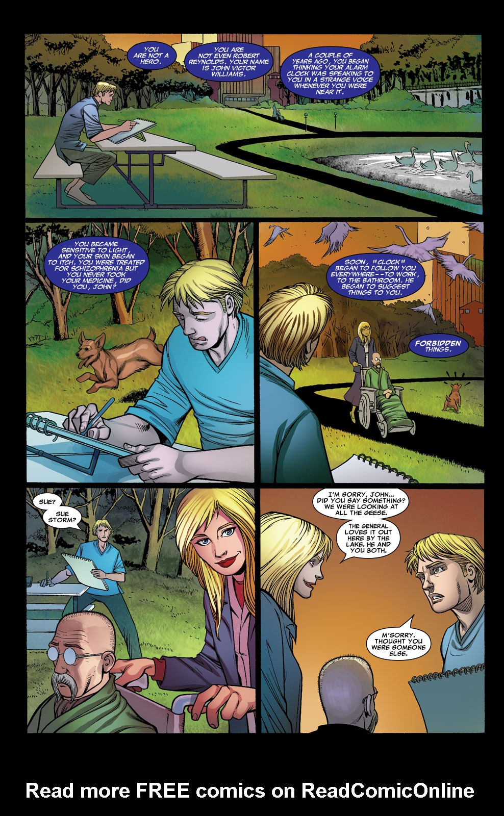 Read online Sentry (2006) comic -  Issue #7 - 7