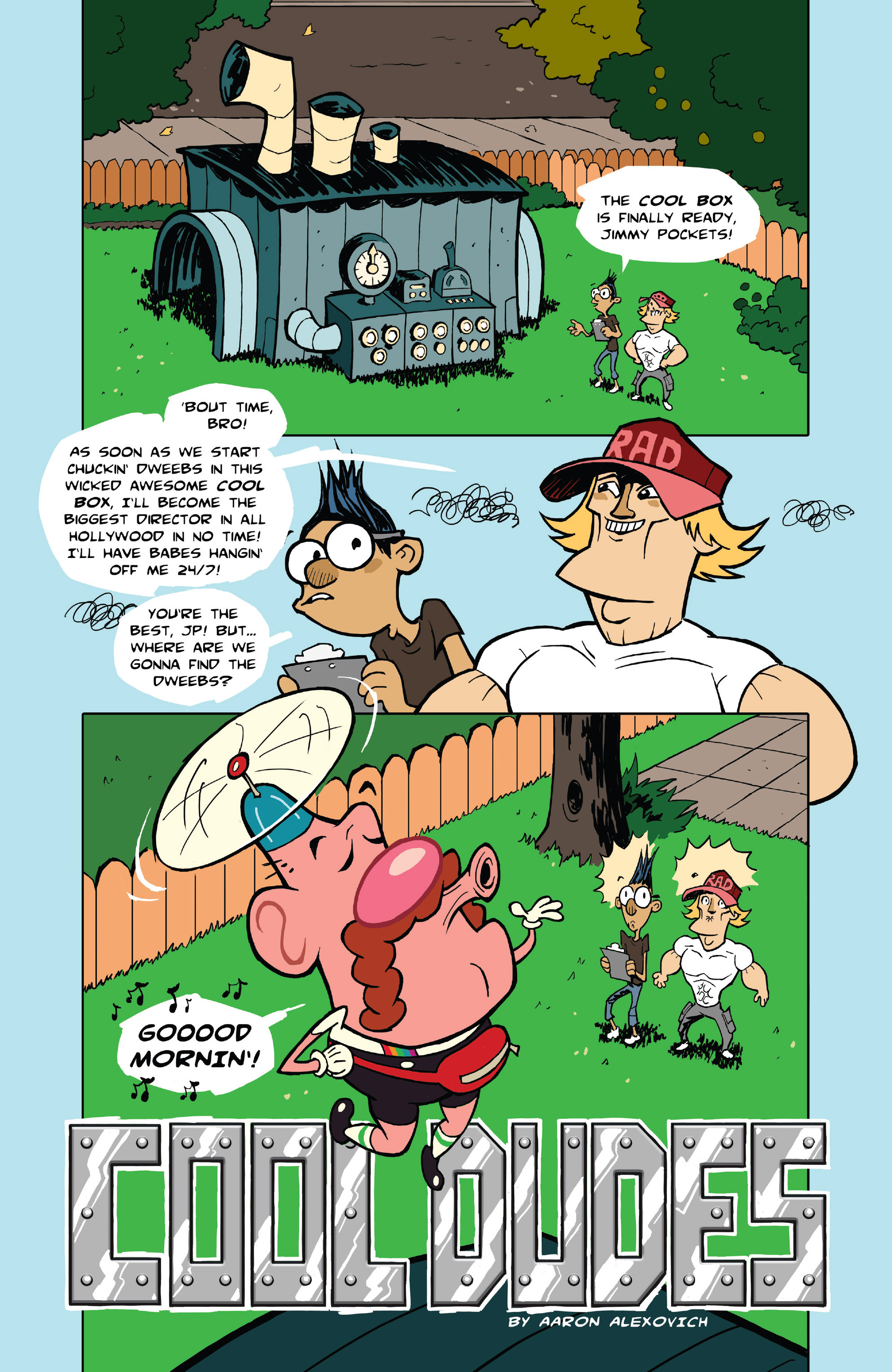 Read online Uncle Grandpa comic -  Issue #4 - 17