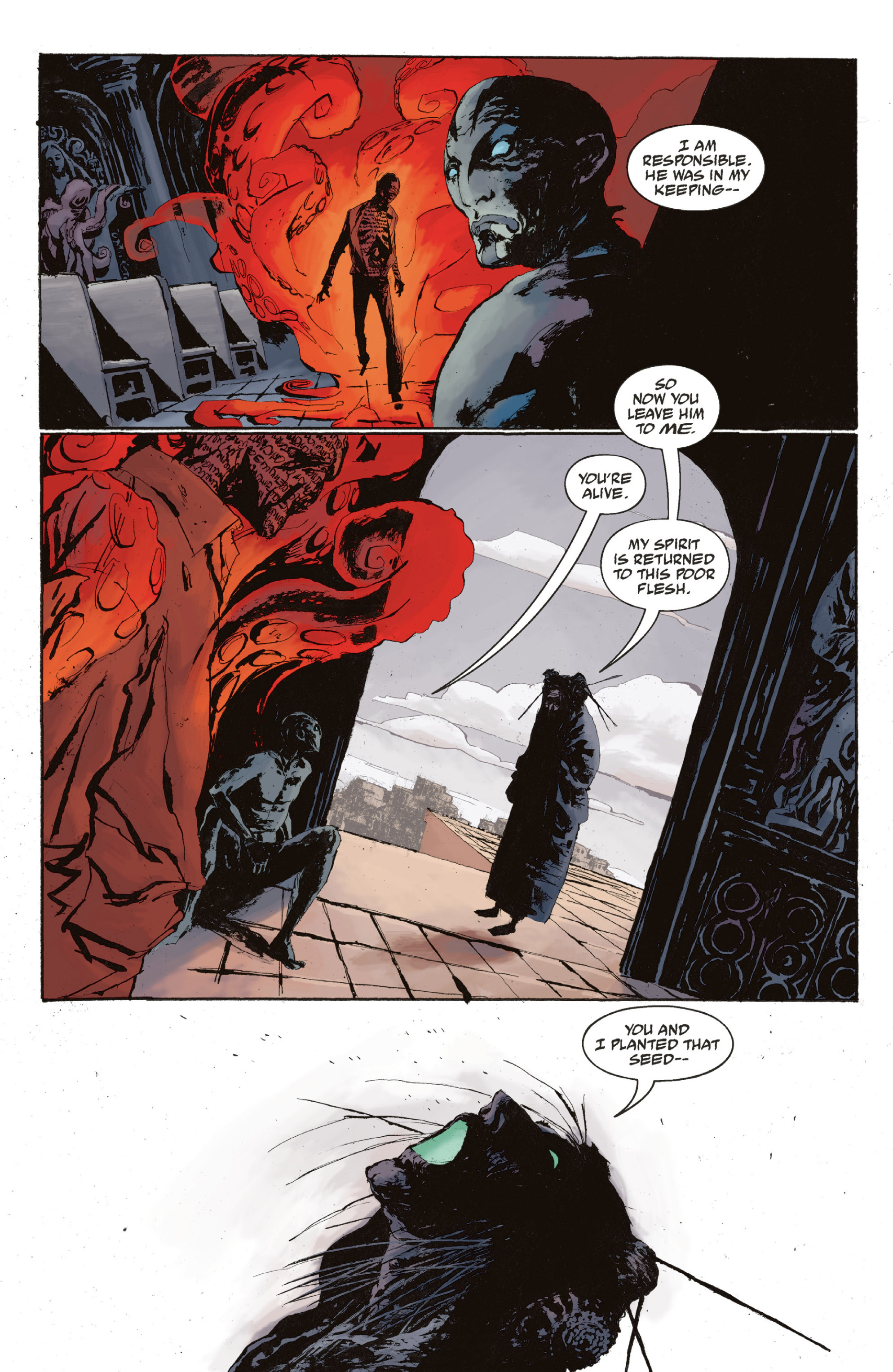 Read online Abe Sapien: The Drowning comic -  Issue #Abe Sapien: The Drowning _TPB - 127