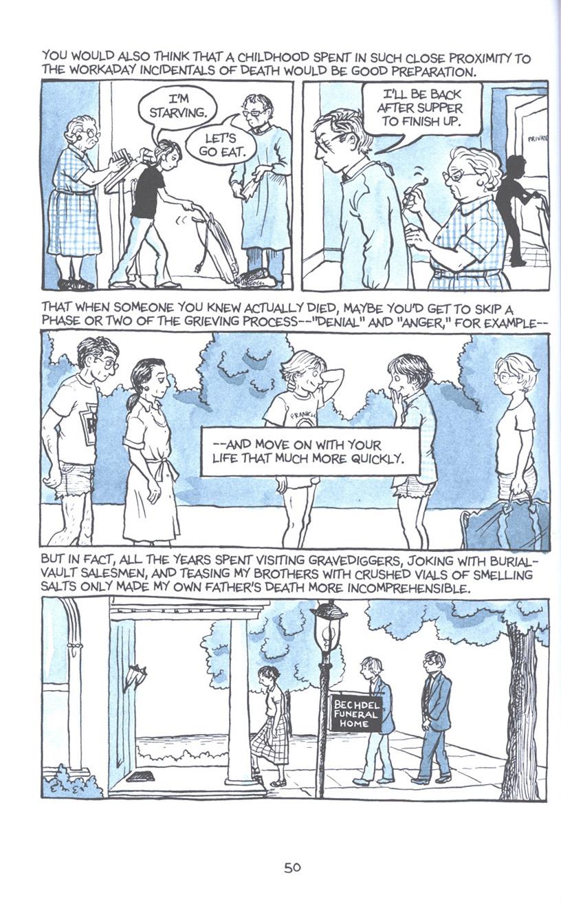 Read online Fun Home: A Family Tragicomic comic -  Issue # TPB - 57