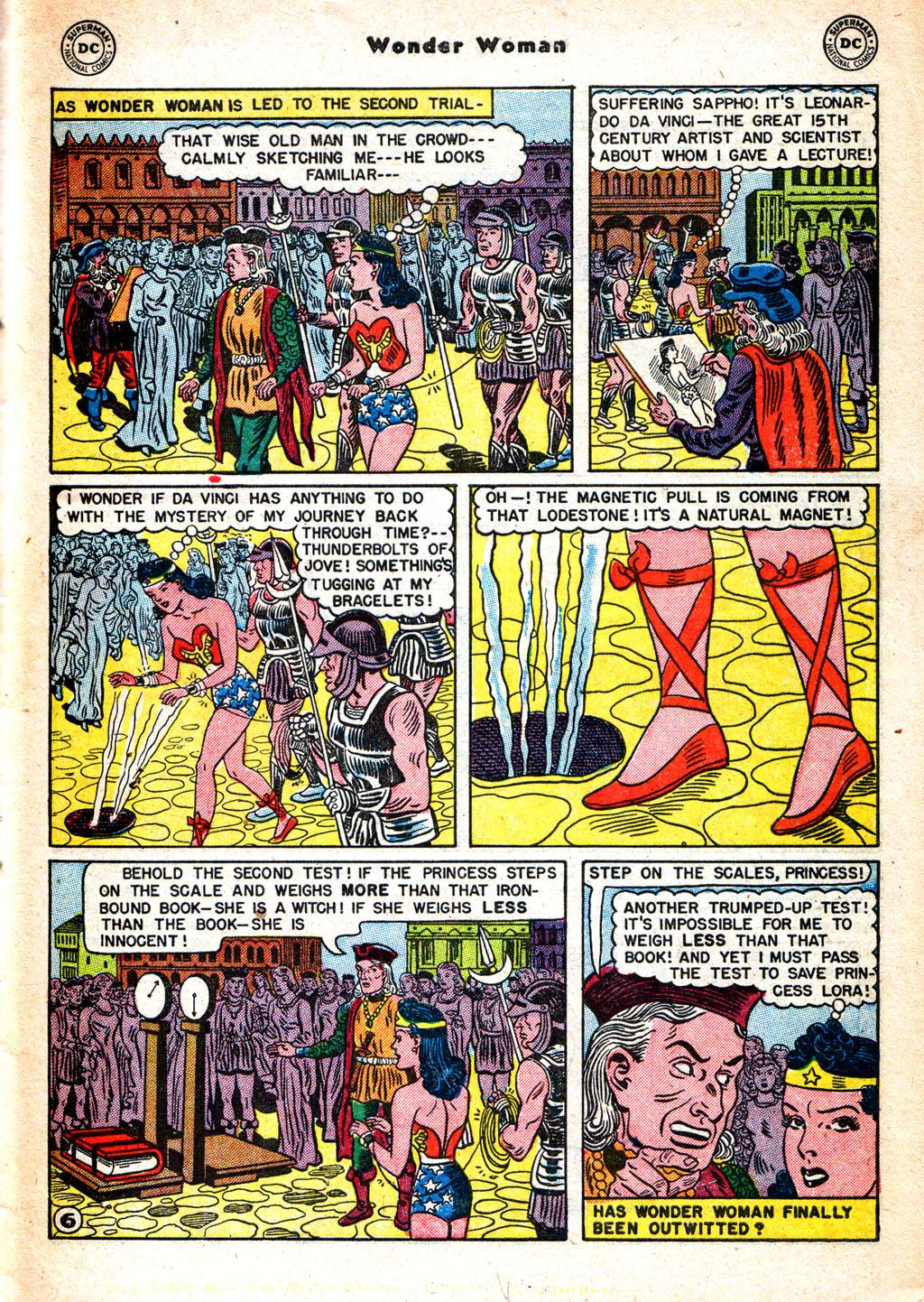 Read online Wonder Woman (1942) comic -  Issue #57 - 36