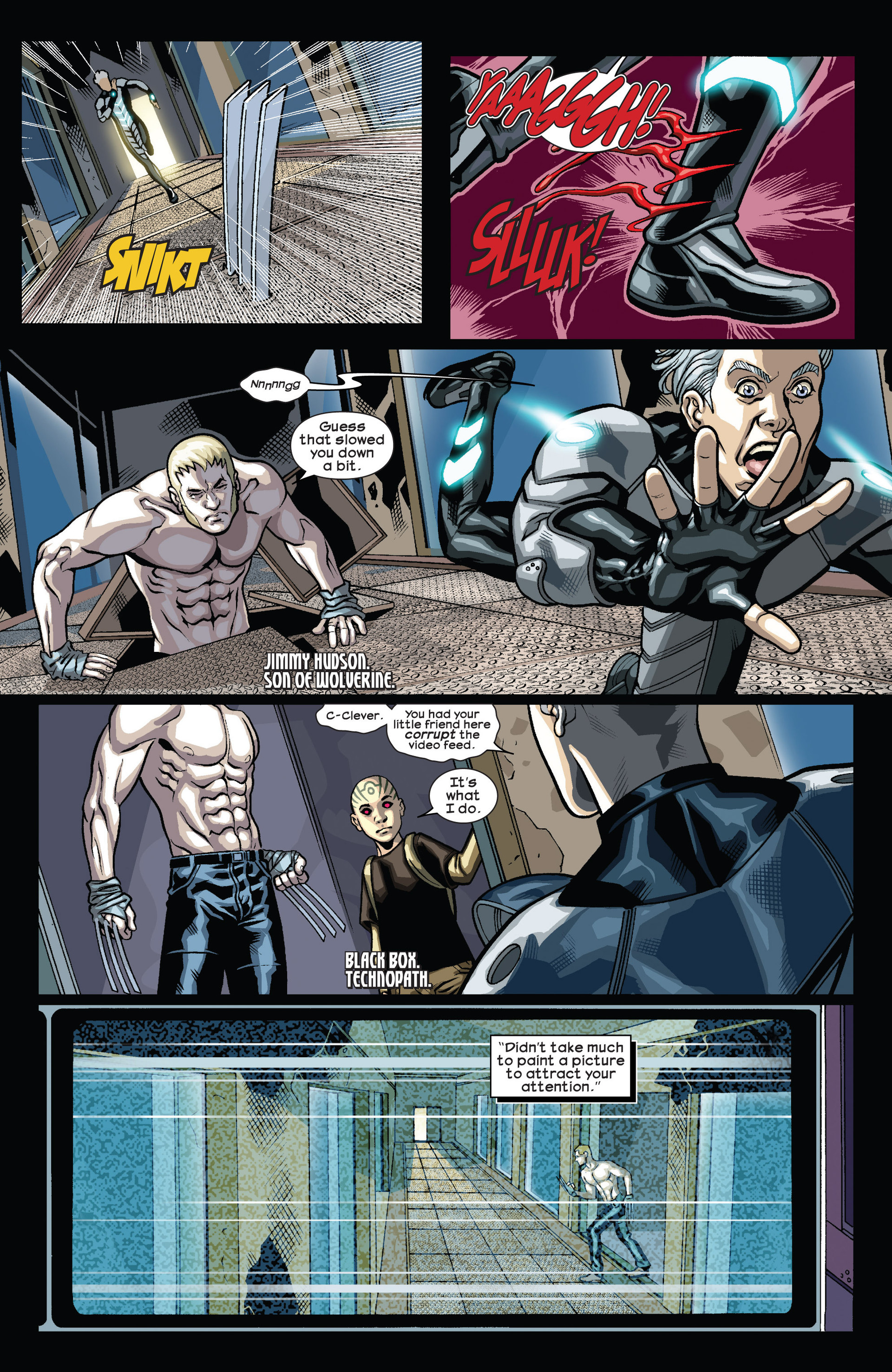 Read online Ultimate Comics Wolverine comic -  Issue #4 - 9