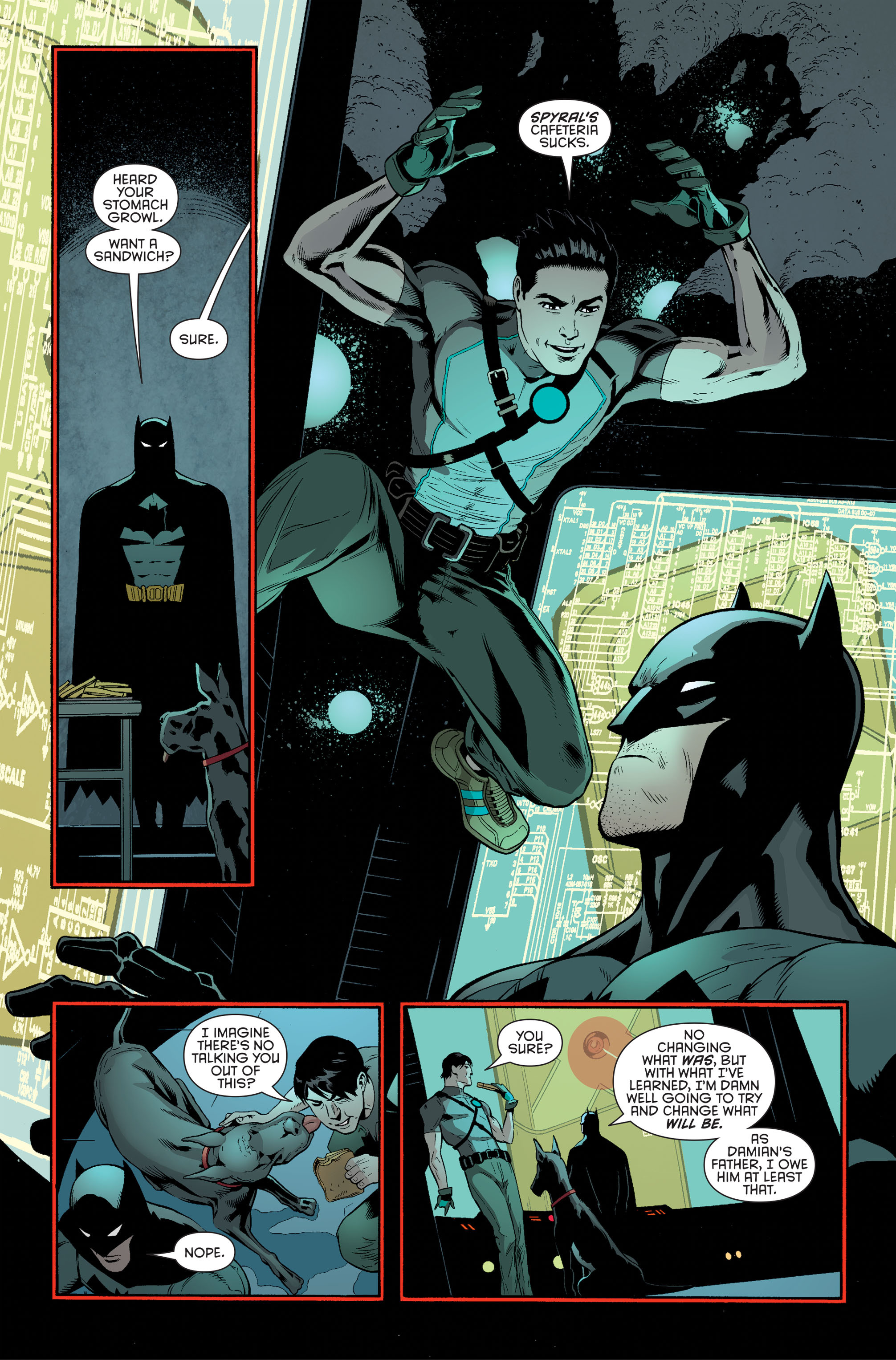 Read online Batman and Robin (2011) comic -  Issue #34 - 13