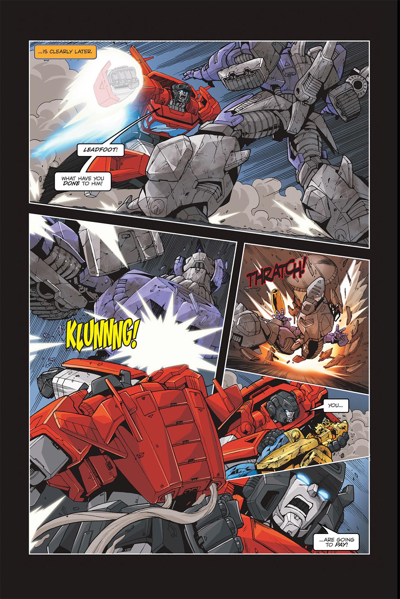 Read online Transformers Spotlight: Galvatron comic -  Issue # Full - 18