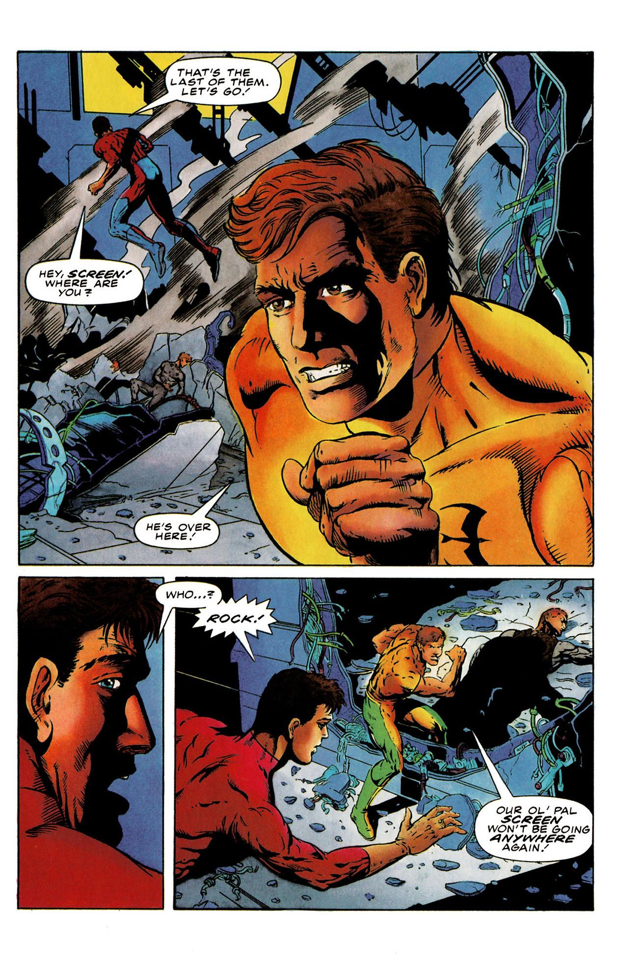 Read online Harbinger (1992) comic -  Issue #25 - 9