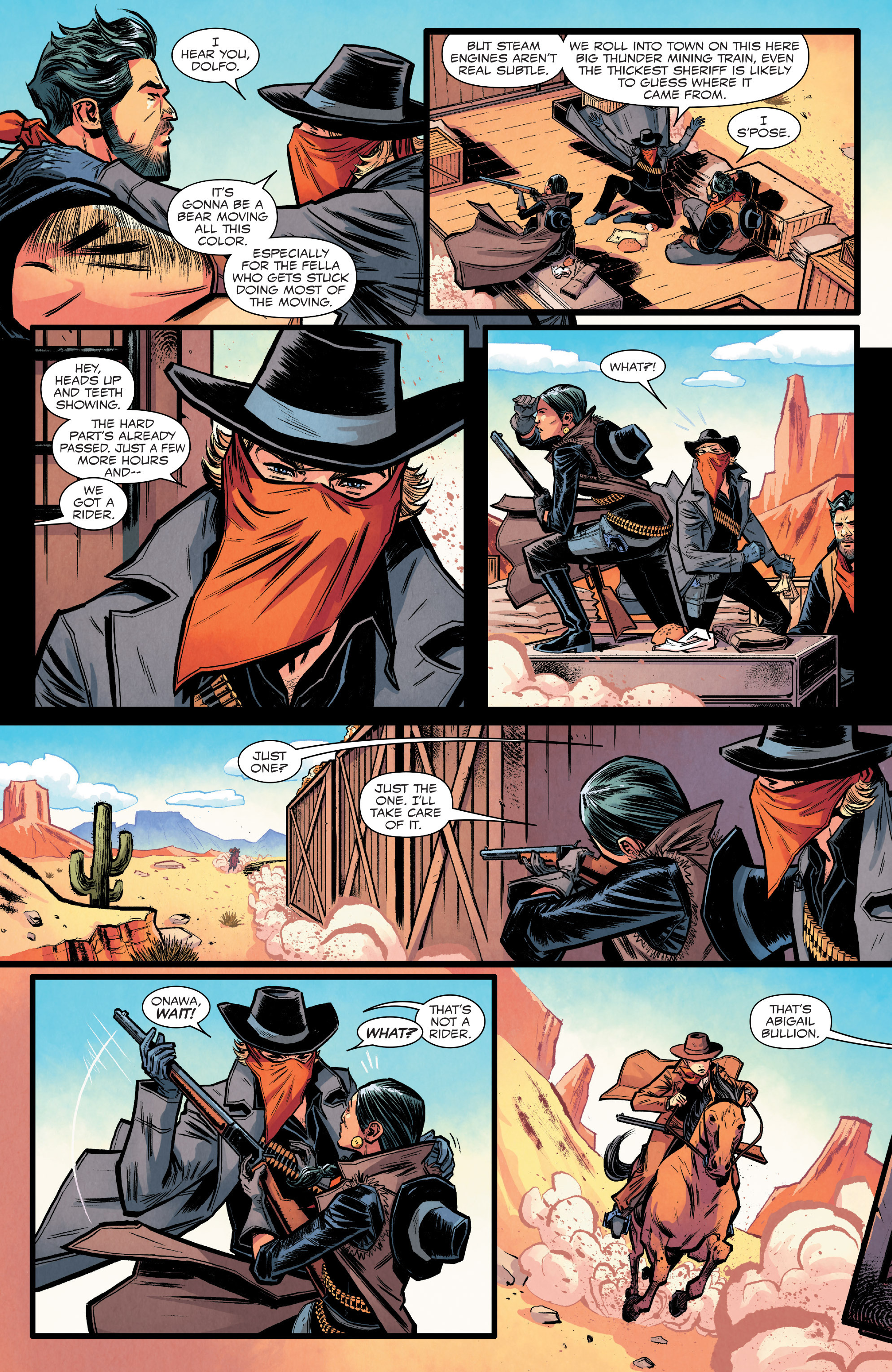 Read online Big Thunder Mountain Railroad comic -  Issue #2 - 15