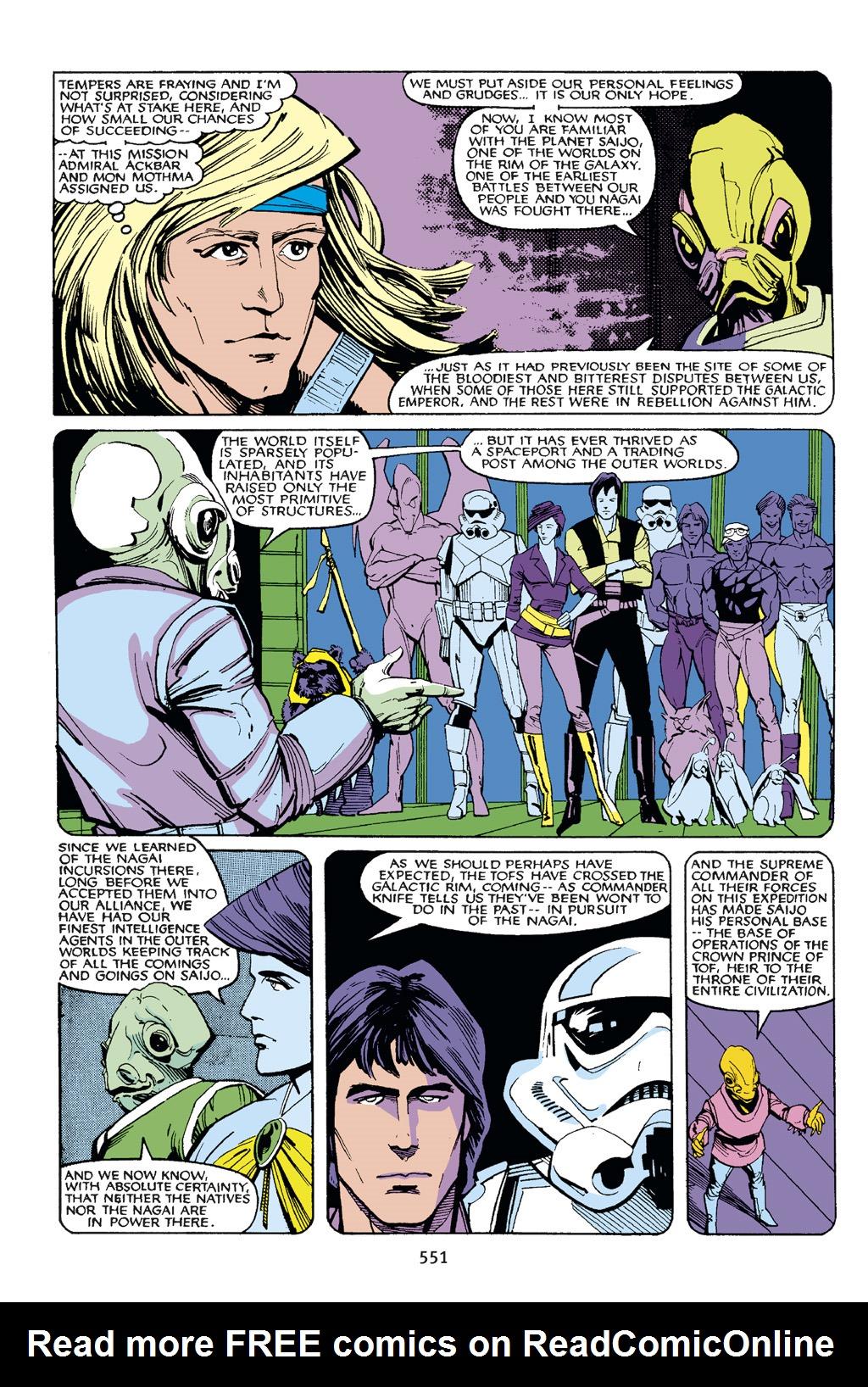 Read online Star Wars Omnibus comic -  Issue # Vol. 21.5 - 274