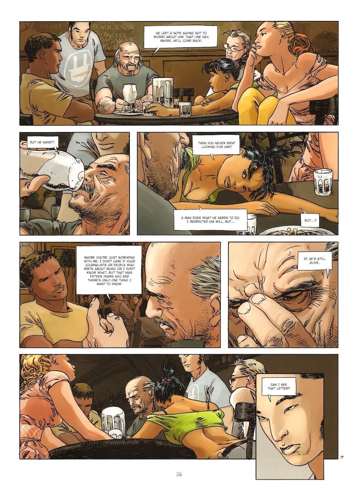 Read online Cutting Edge (2013) comic -  Issue #1 - 24