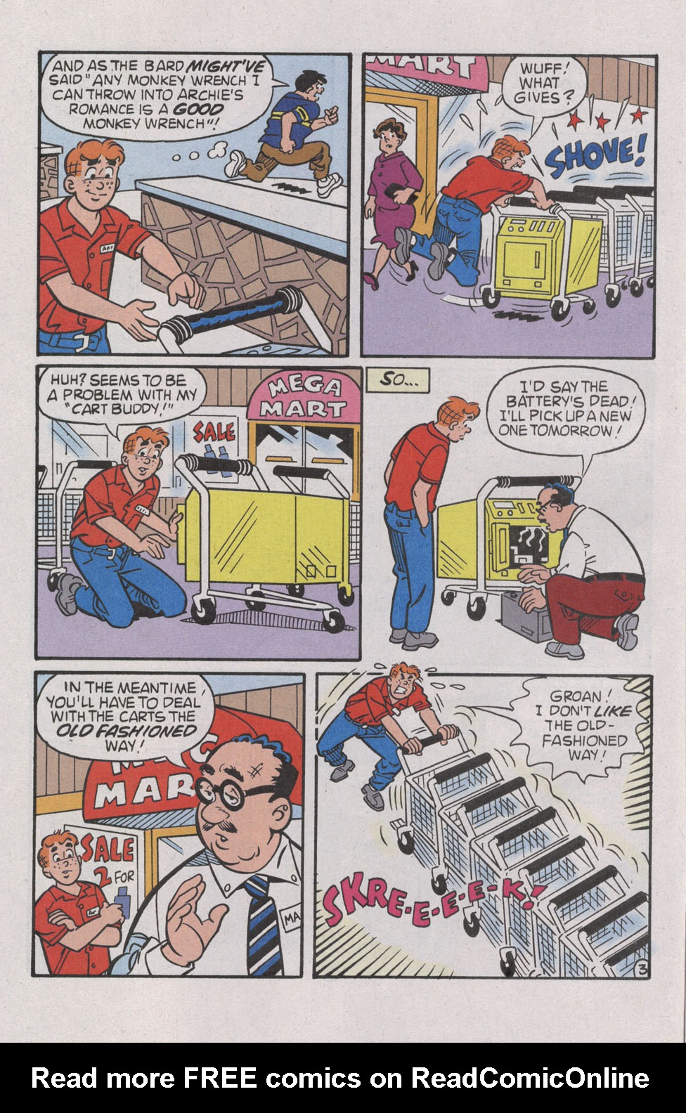 Read online Archie (1960) comic -  Issue #539 - 14