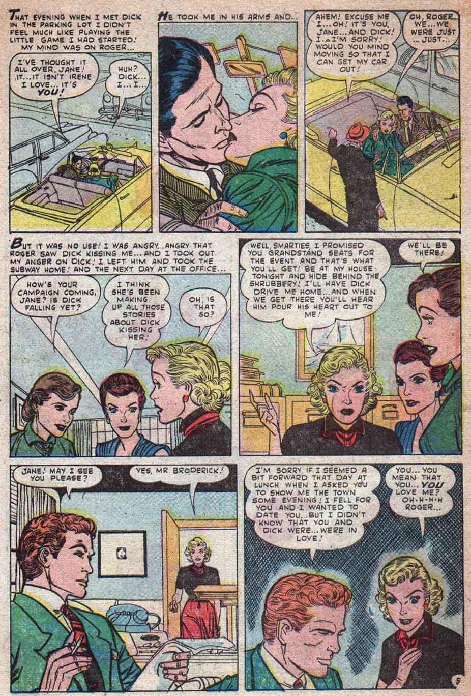 Love Romances (1949) issue 25 - Page 6
