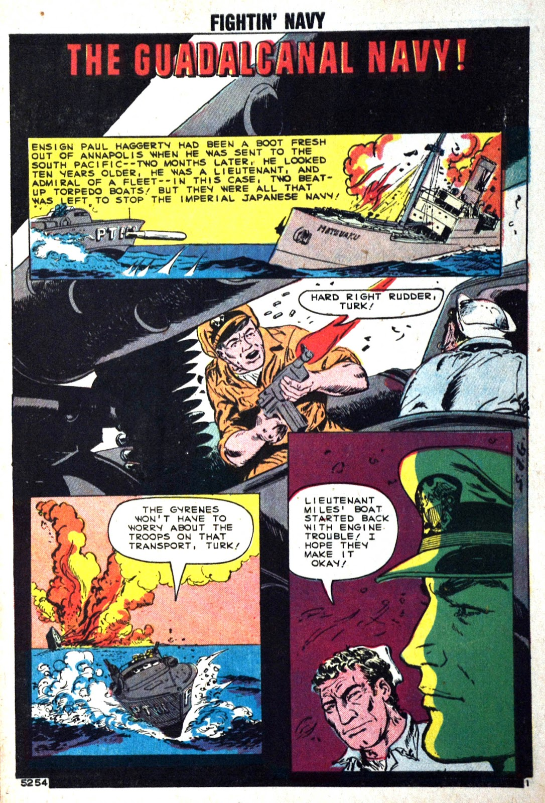 Read online Fightin' Navy comic -  Issue #89 - 3
