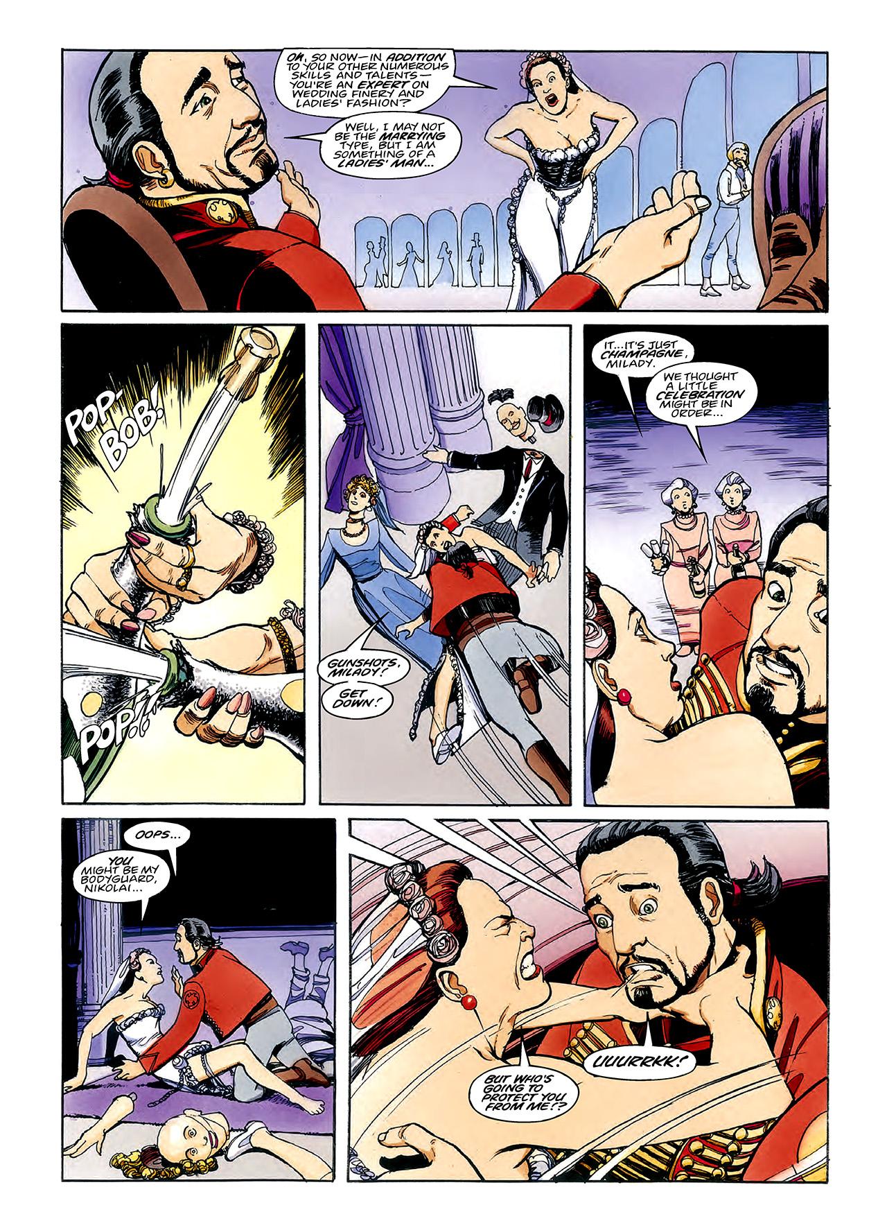 Read online Nikolai Dante comic -  Issue # TPB 3 - 69