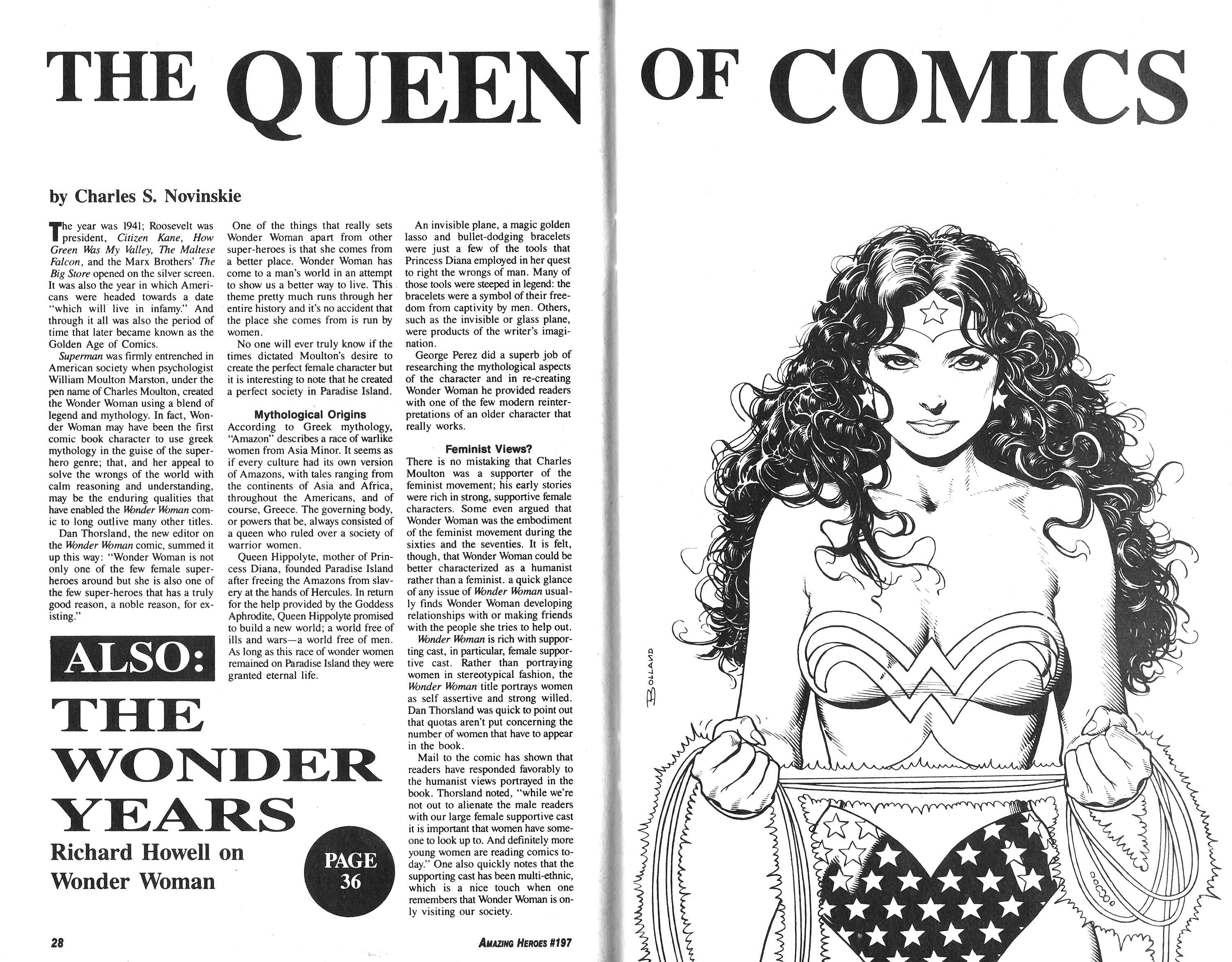 Read online Amazing Heroes comic -  Issue #197 - 15