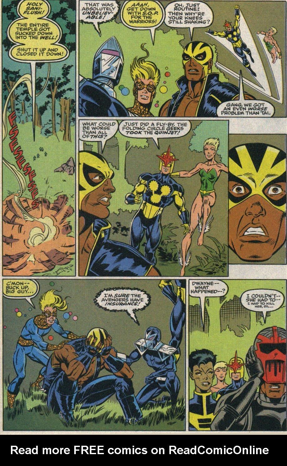 The New Warriors Issue #25 #29 - English 38