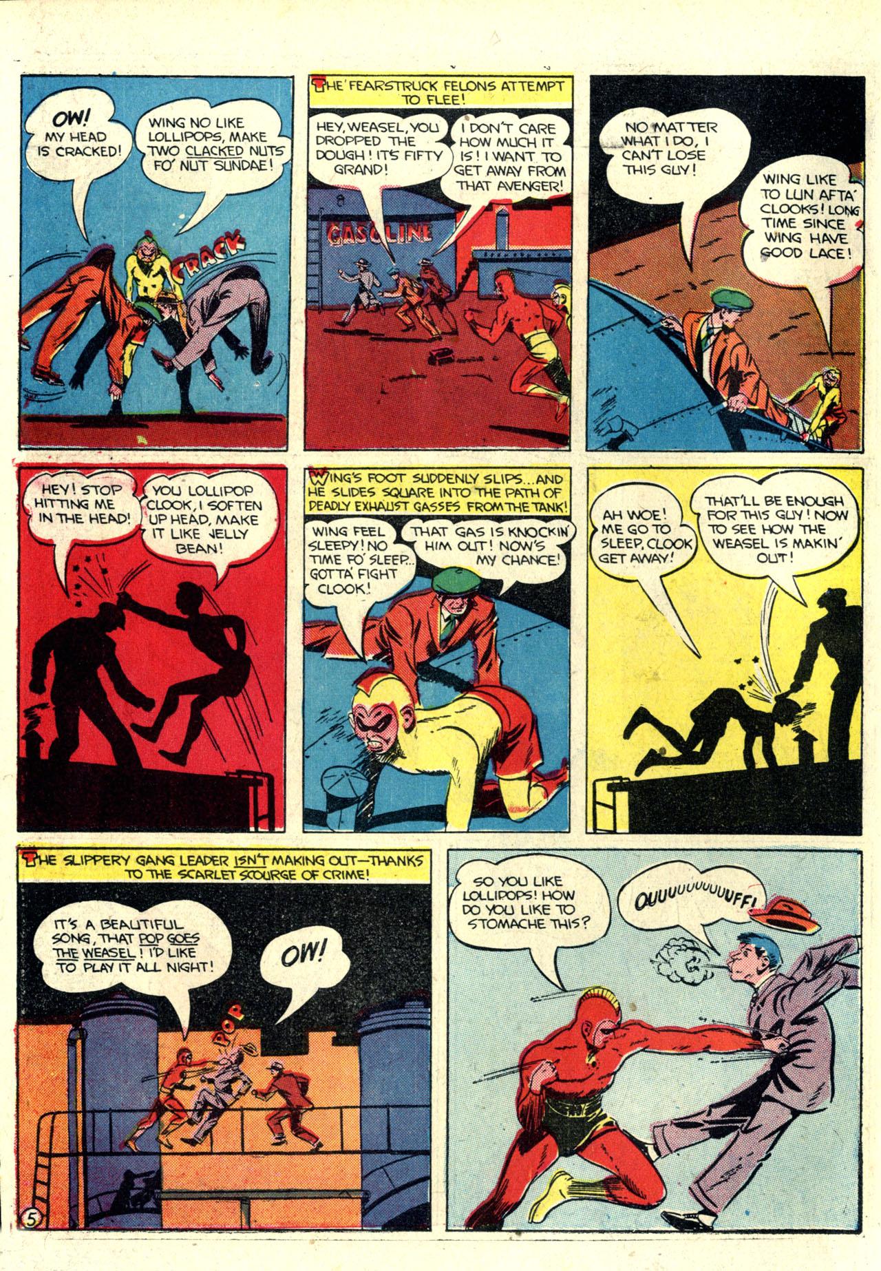 Read online Detective Comics (1937) comic -  Issue #76 - 32