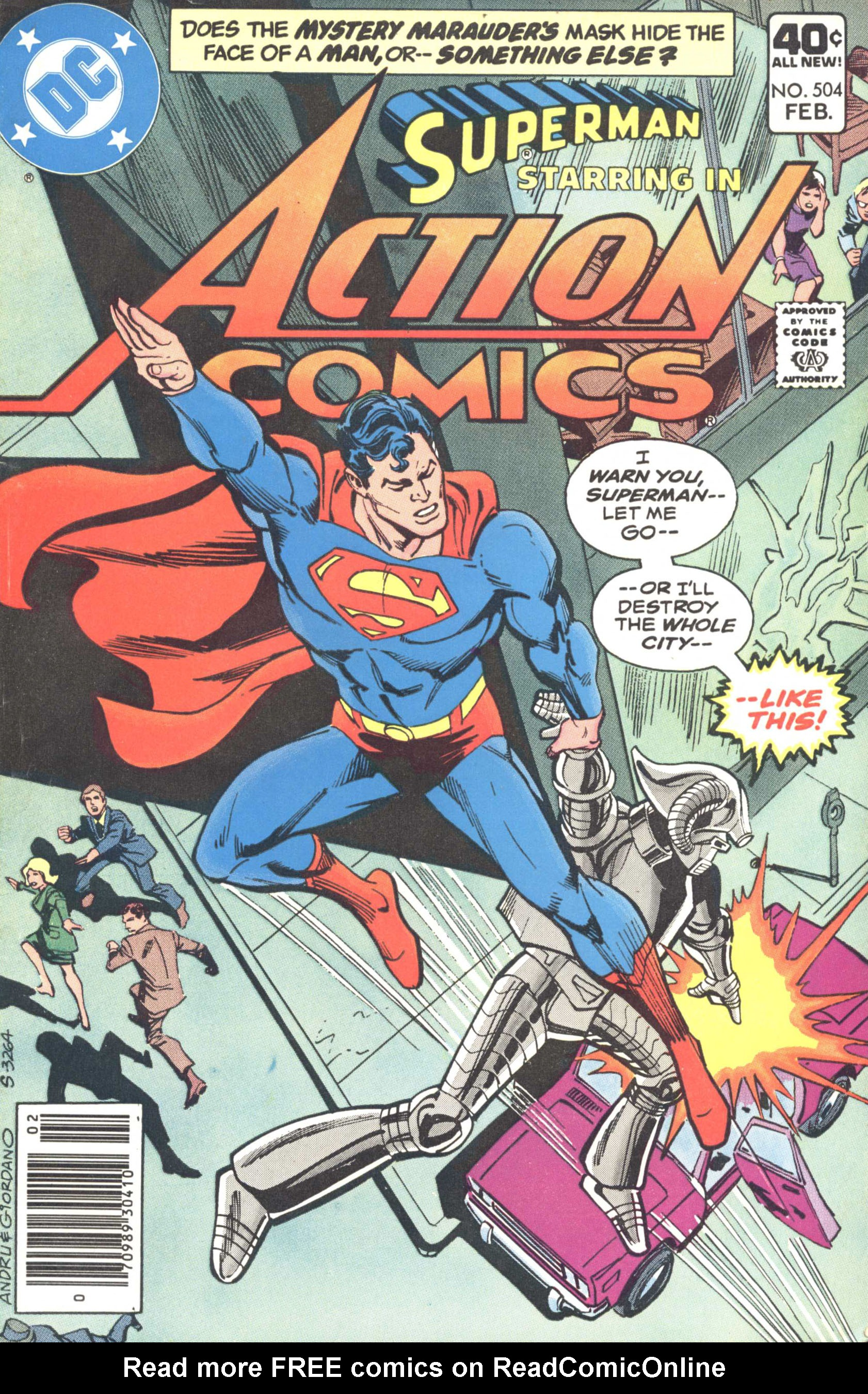 Read online Action Comics (1938) comic -  Issue #504 - 1