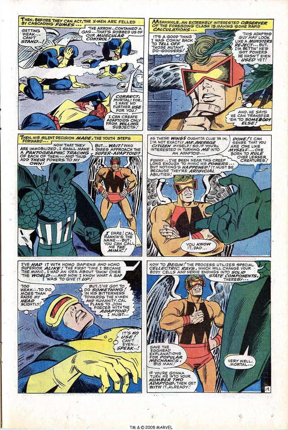 Read online Uncanny X-Men (1963) comic -  Issue #77 - 23