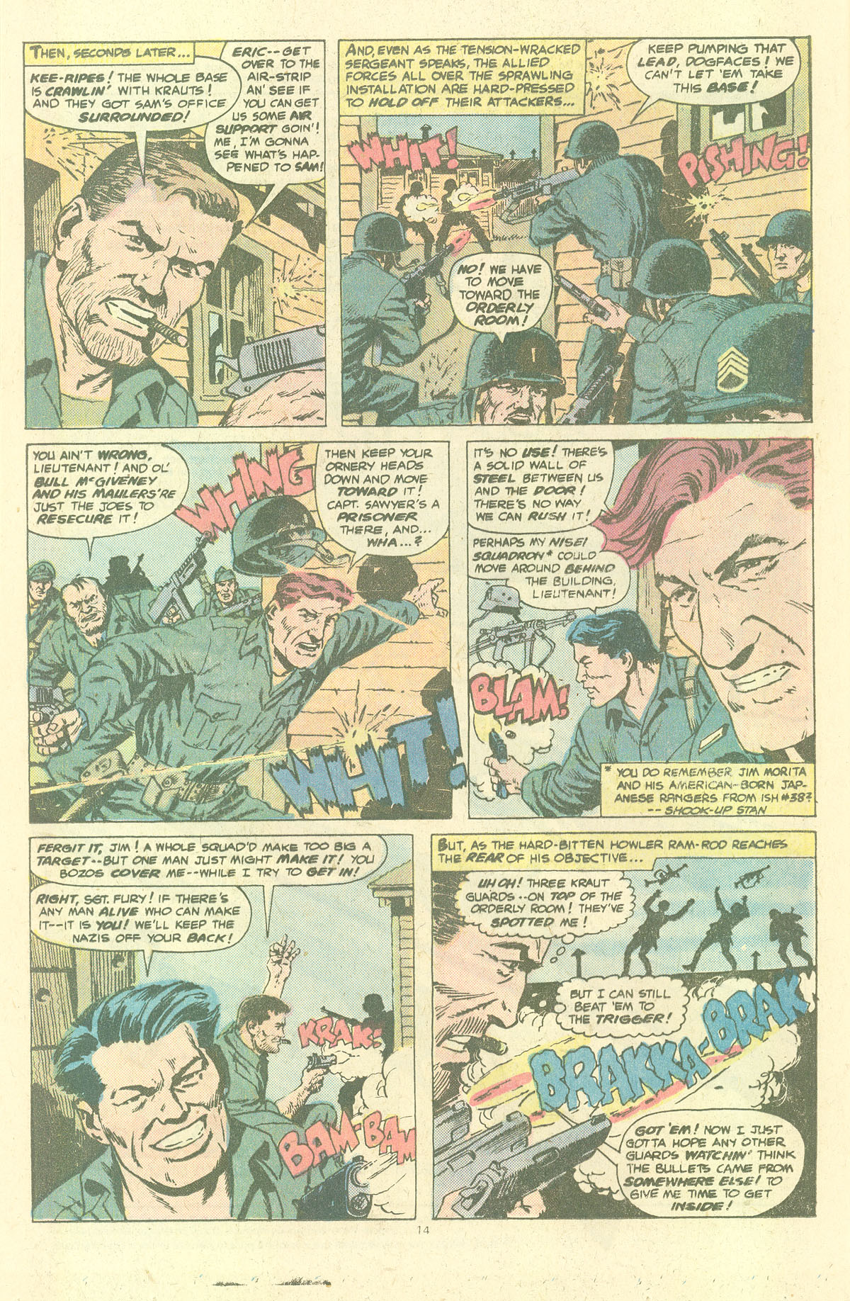 Read online Sgt. Fury comic -  Issue #143 - 16