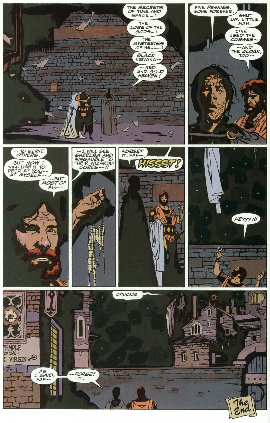 Read online Fafhrd and the Gray Mouser comic -  Issue #3 - 50