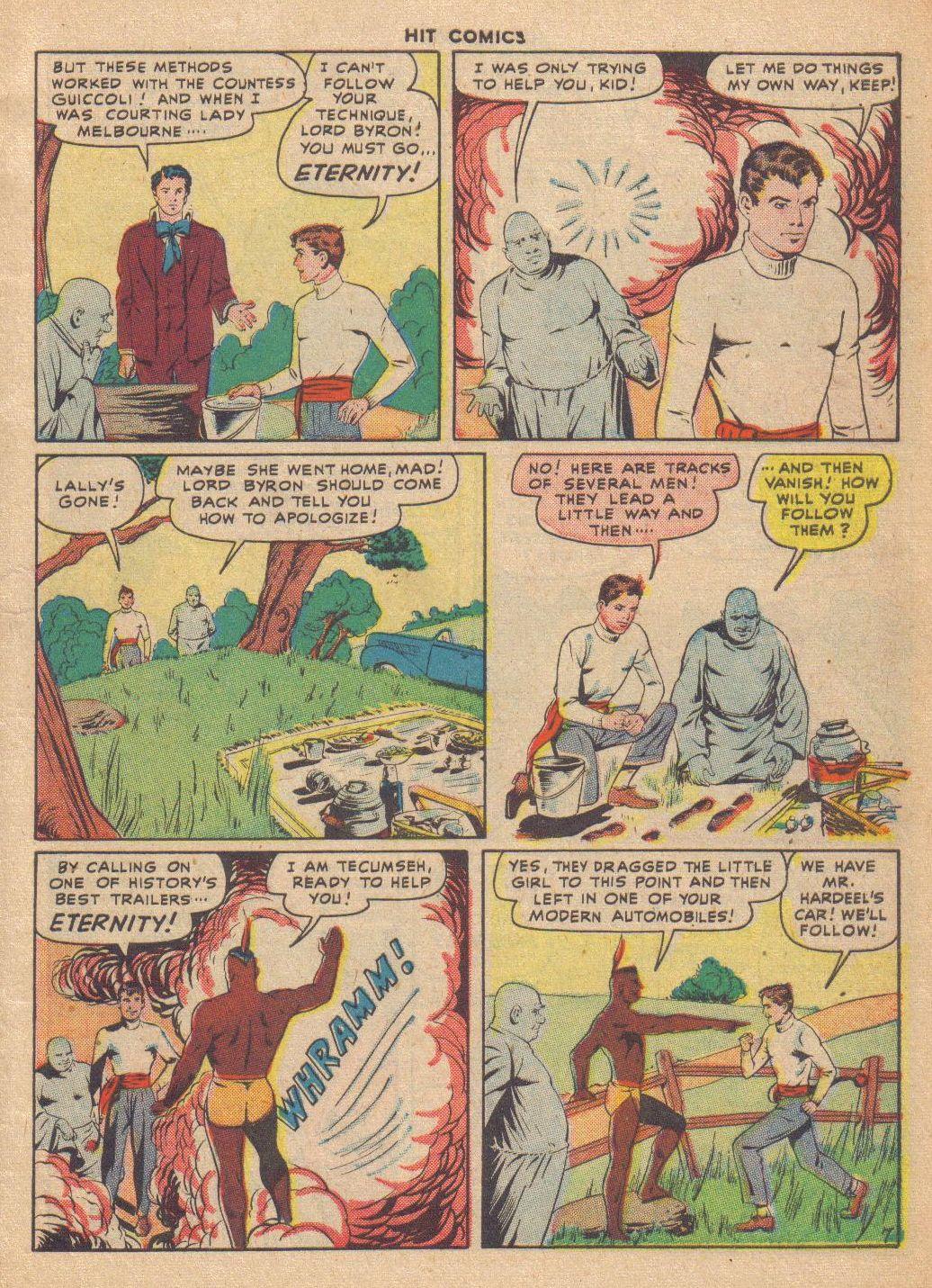 Read online Hit Comics comic -  Issue #46 - 9