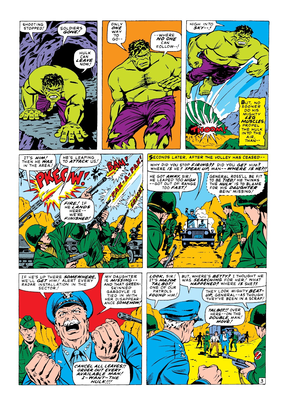 Read online Marvel Masterworks: The Incredible Hulk comic -  Issue # TPB 3 (Part 1) - 32