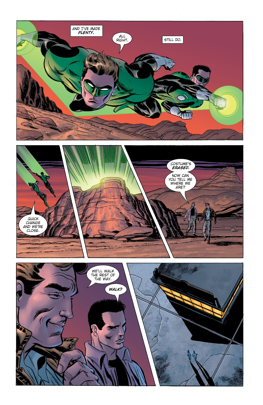 Read online Green Lantern by Geoff Johns comic -  Issue # TPB 1 (Part 2) - 72