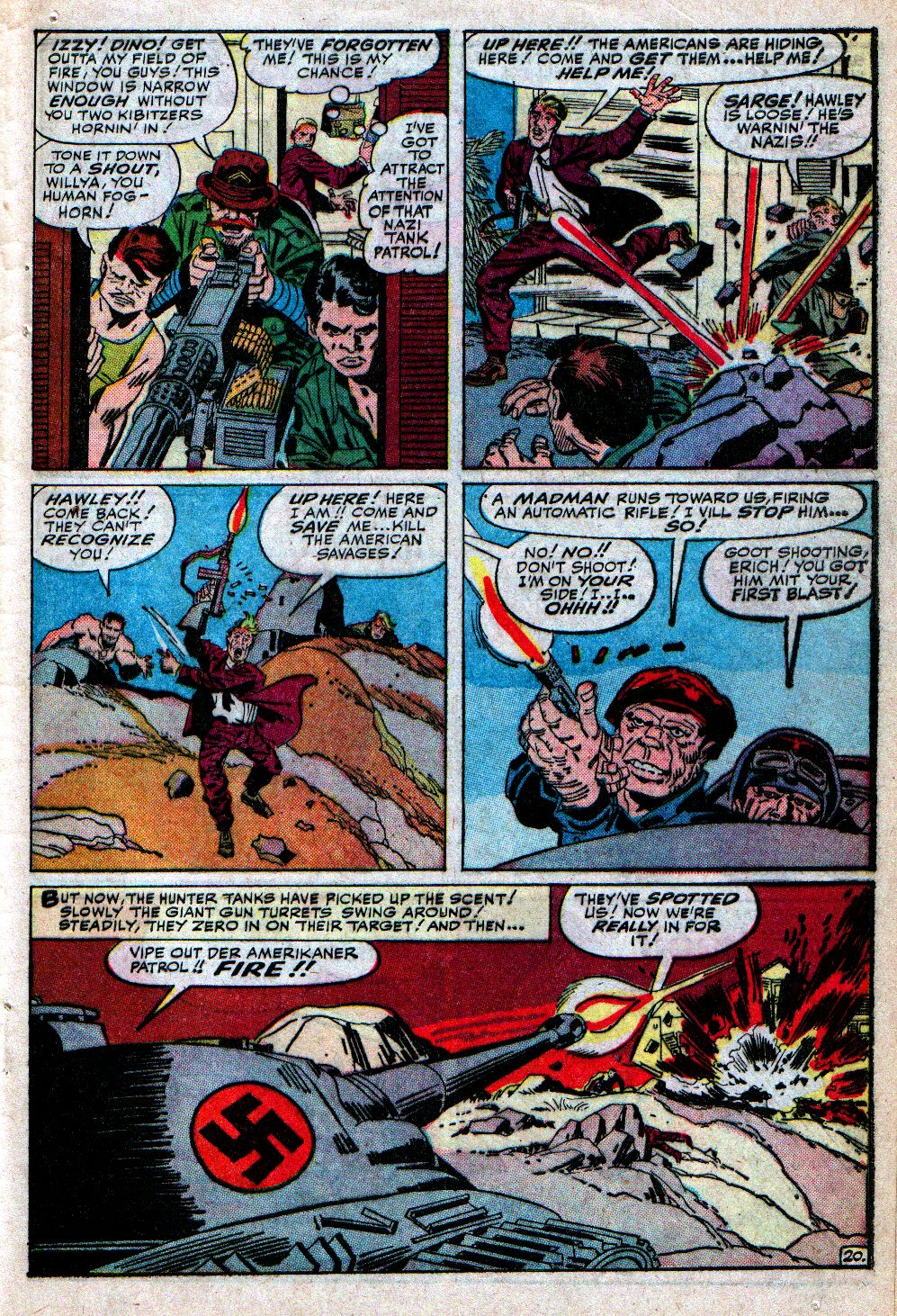 Read online Sgt. Fury comic -  Issue #4 - 29