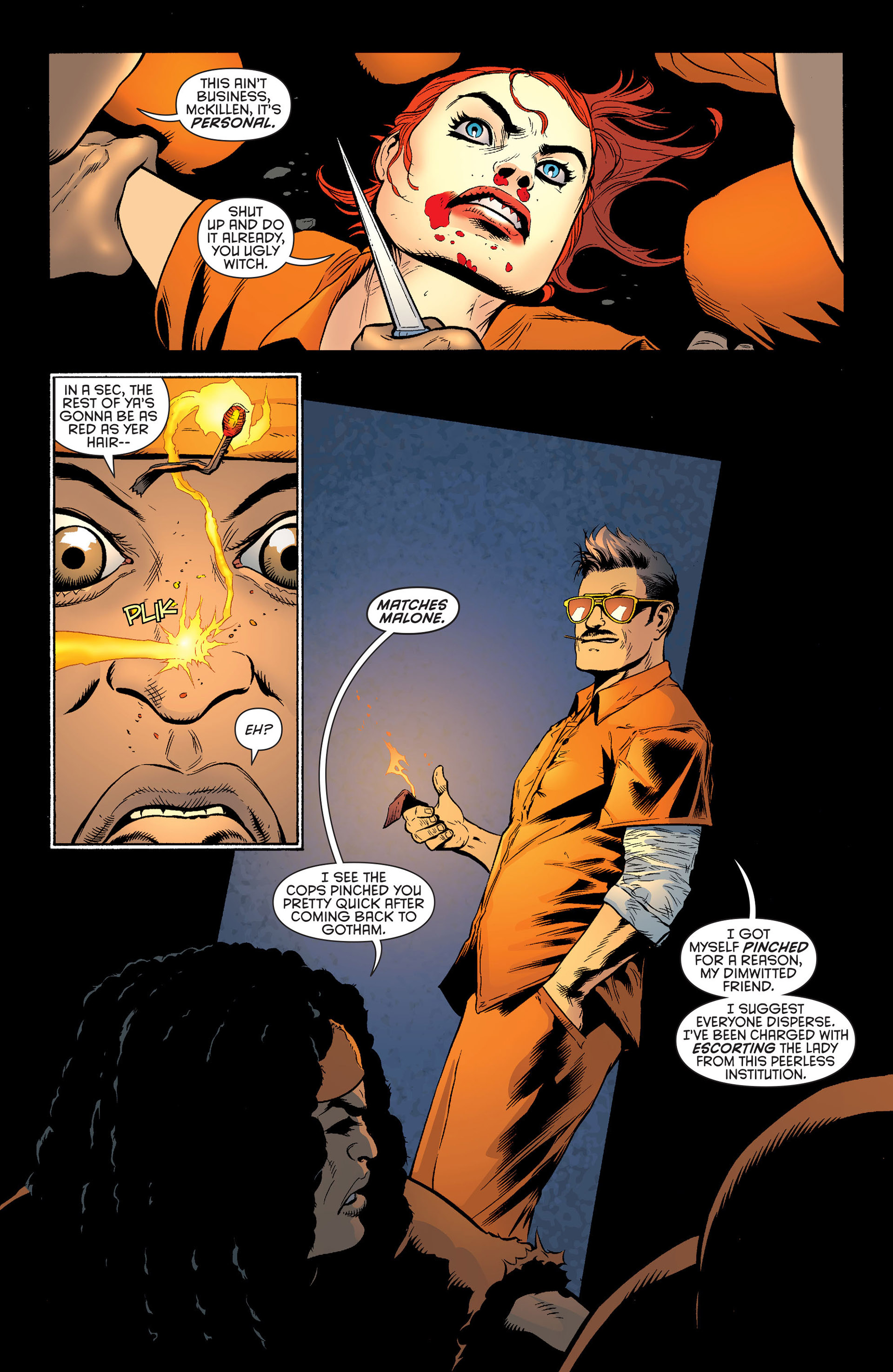 Read online Batman and Robin (2011) comic -  Issue #25 - Batman and Two-Face - 17