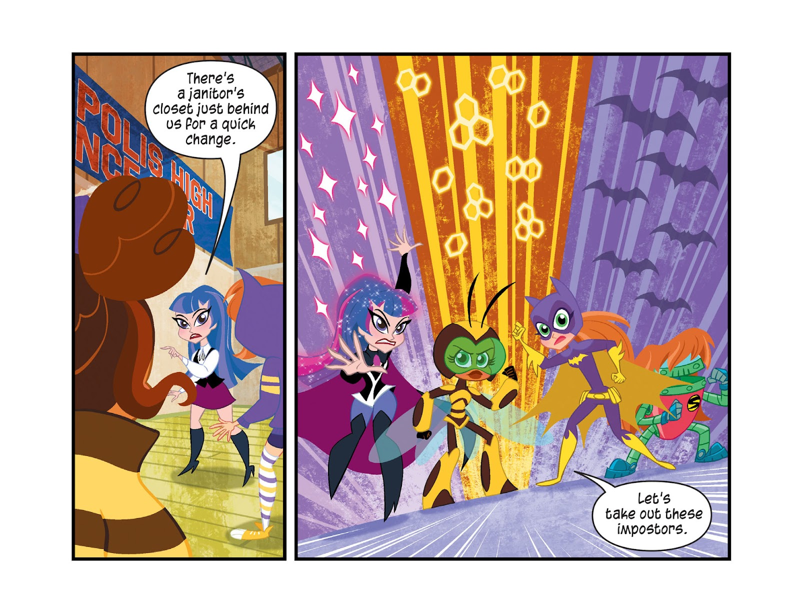 Read online DC Super Hero Girls: Weird Science comic -  Issue #14 - 13