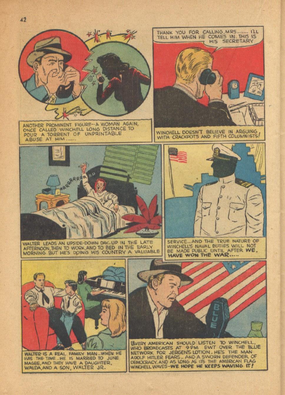 Read online Super-Magician Comics comic -  Issue #13 - 42