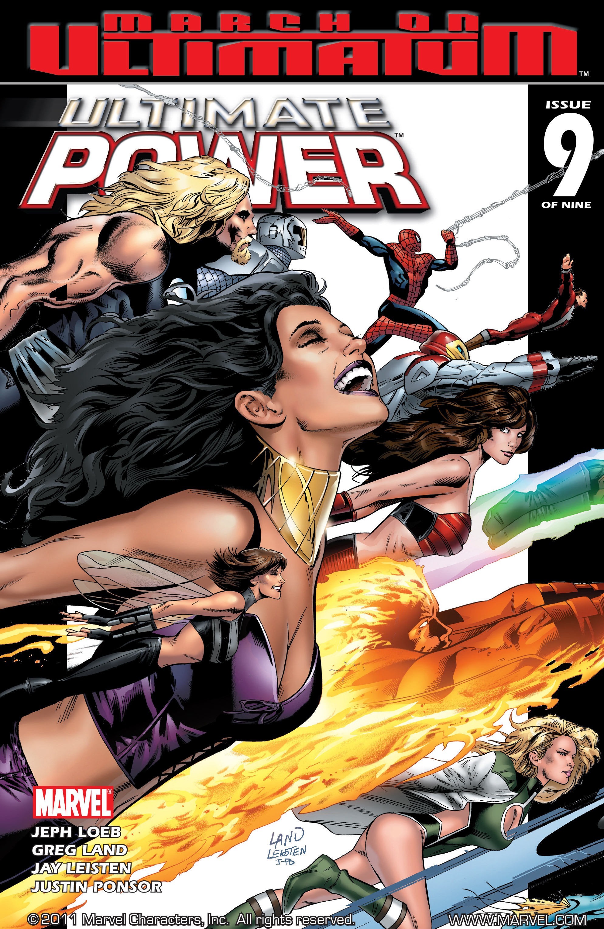 Read online Ultimate Power comic -  Issue #9 - 1