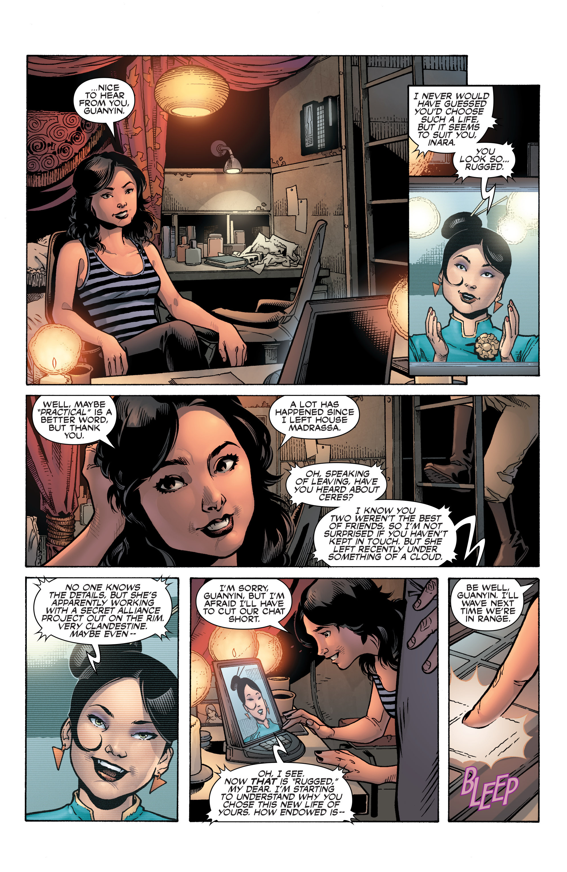 Read online Serenity: Firefly Class 03-K64 – No Power in the 'Verse comic -  Issue #1 - 17