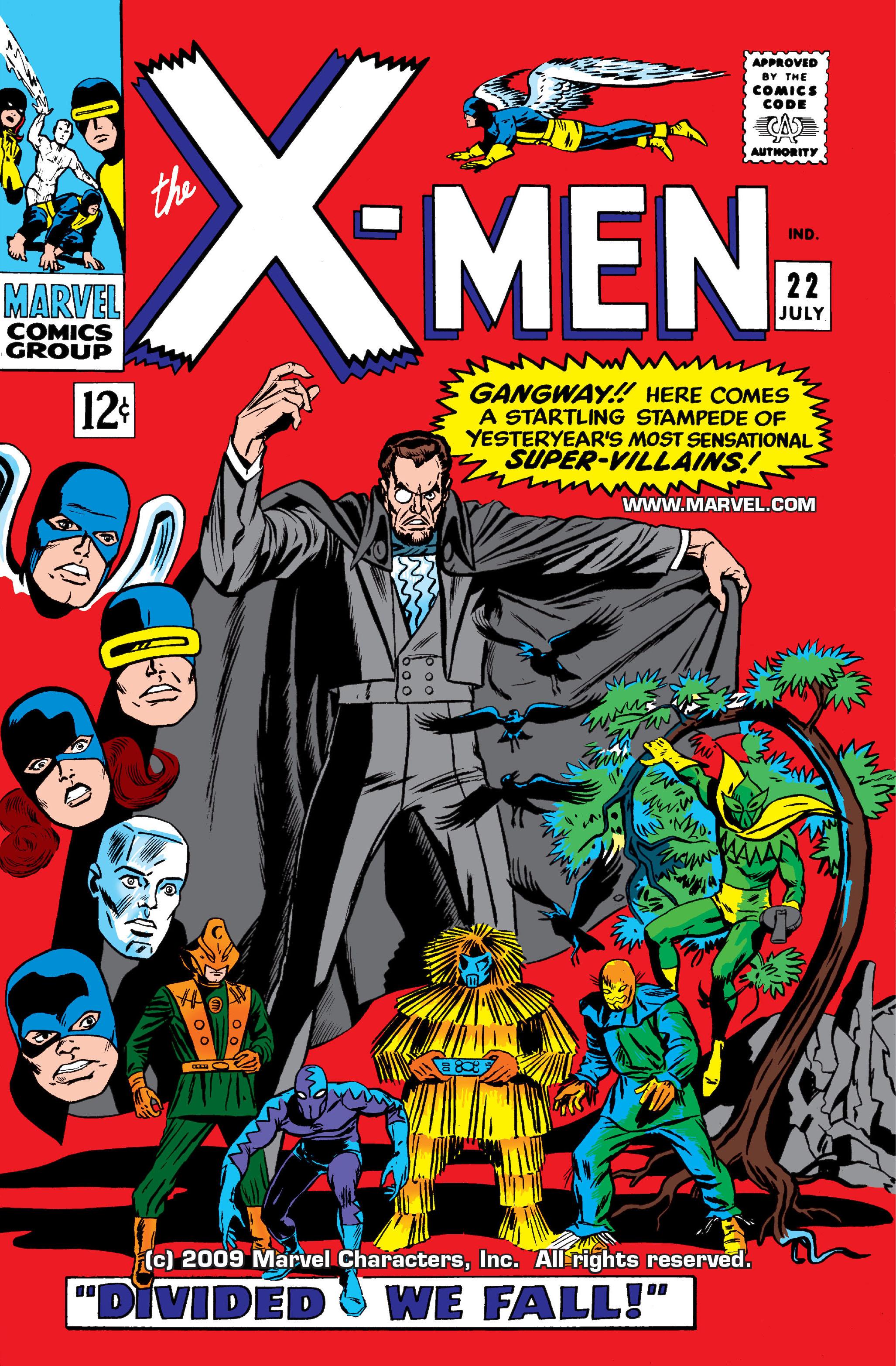 Read online Uncanny X-Men (1963) comic -  Issue #22 - 1